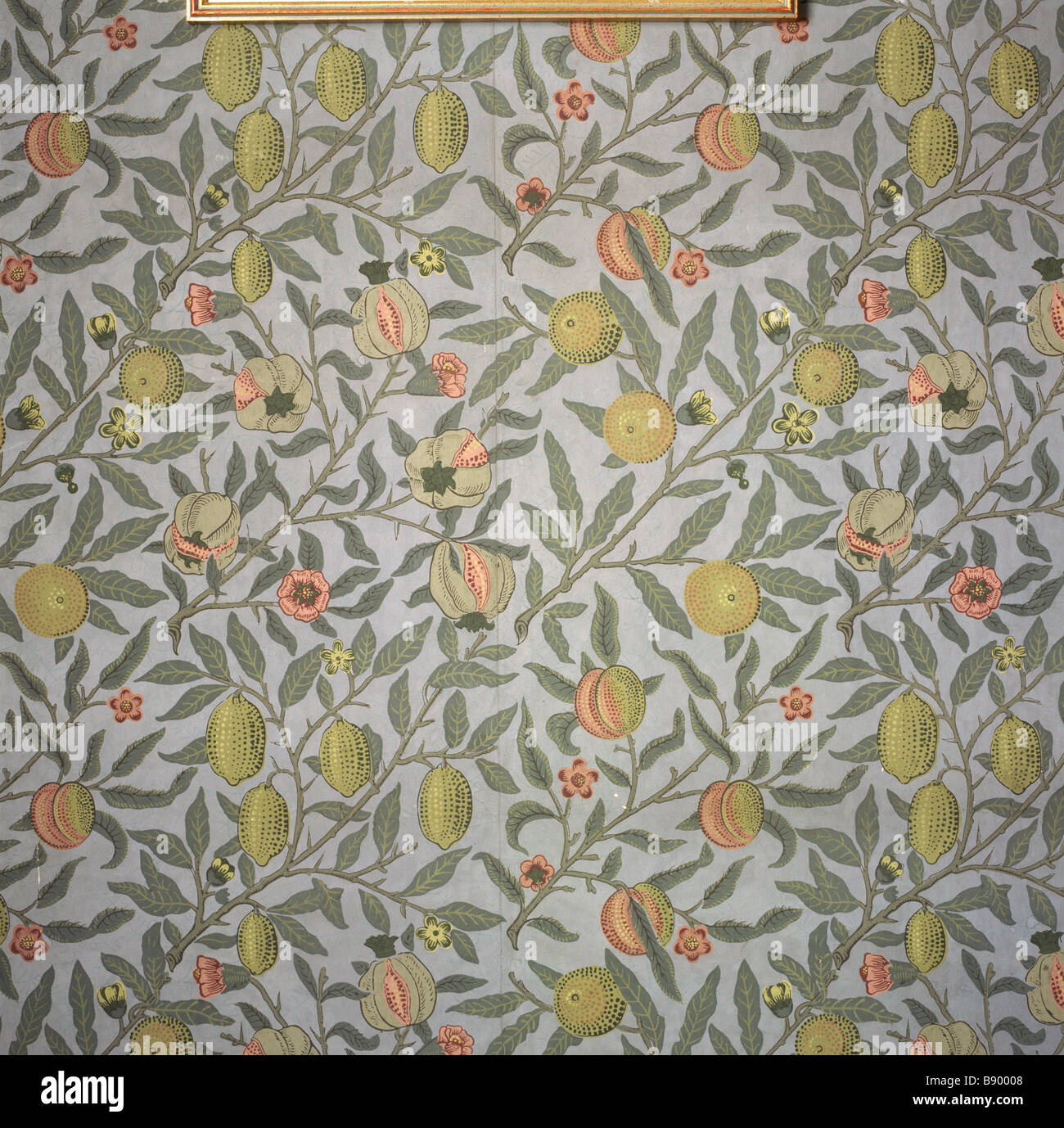 William Morris Wallpaper Stock Photos William Morris