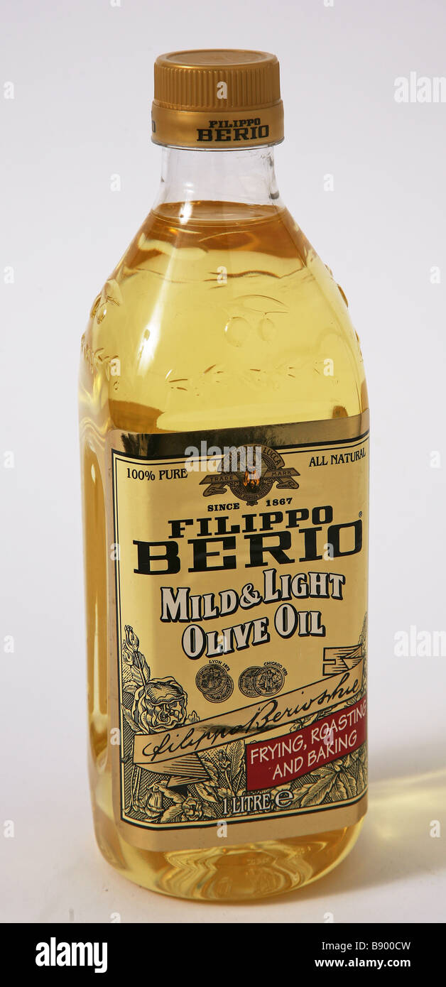 light berio olive oil - Stock Image