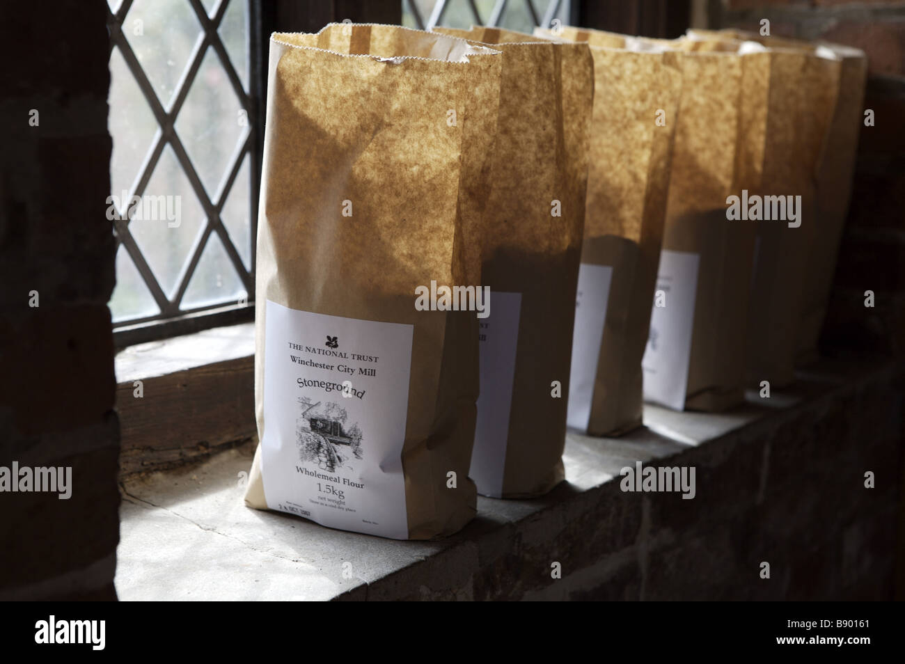 Bags Of Flour Which Has Been Ground At The C18th Working Winchester