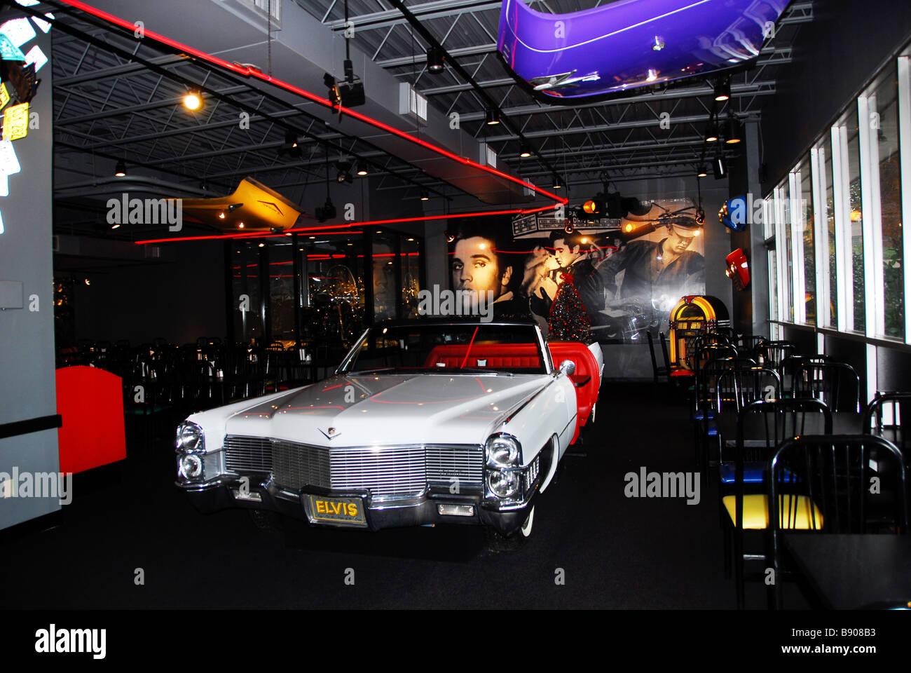 Elvis Presley Car Stock Photos Elvis Presley Car Stock Images - Car show memphis tn