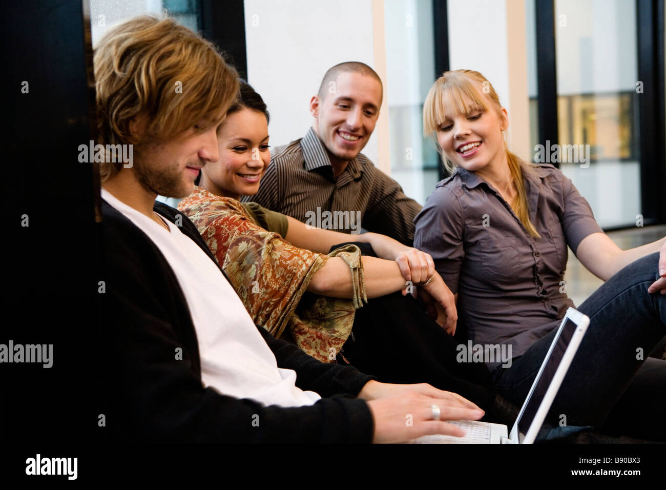 Student life Sweden. - Stock Image