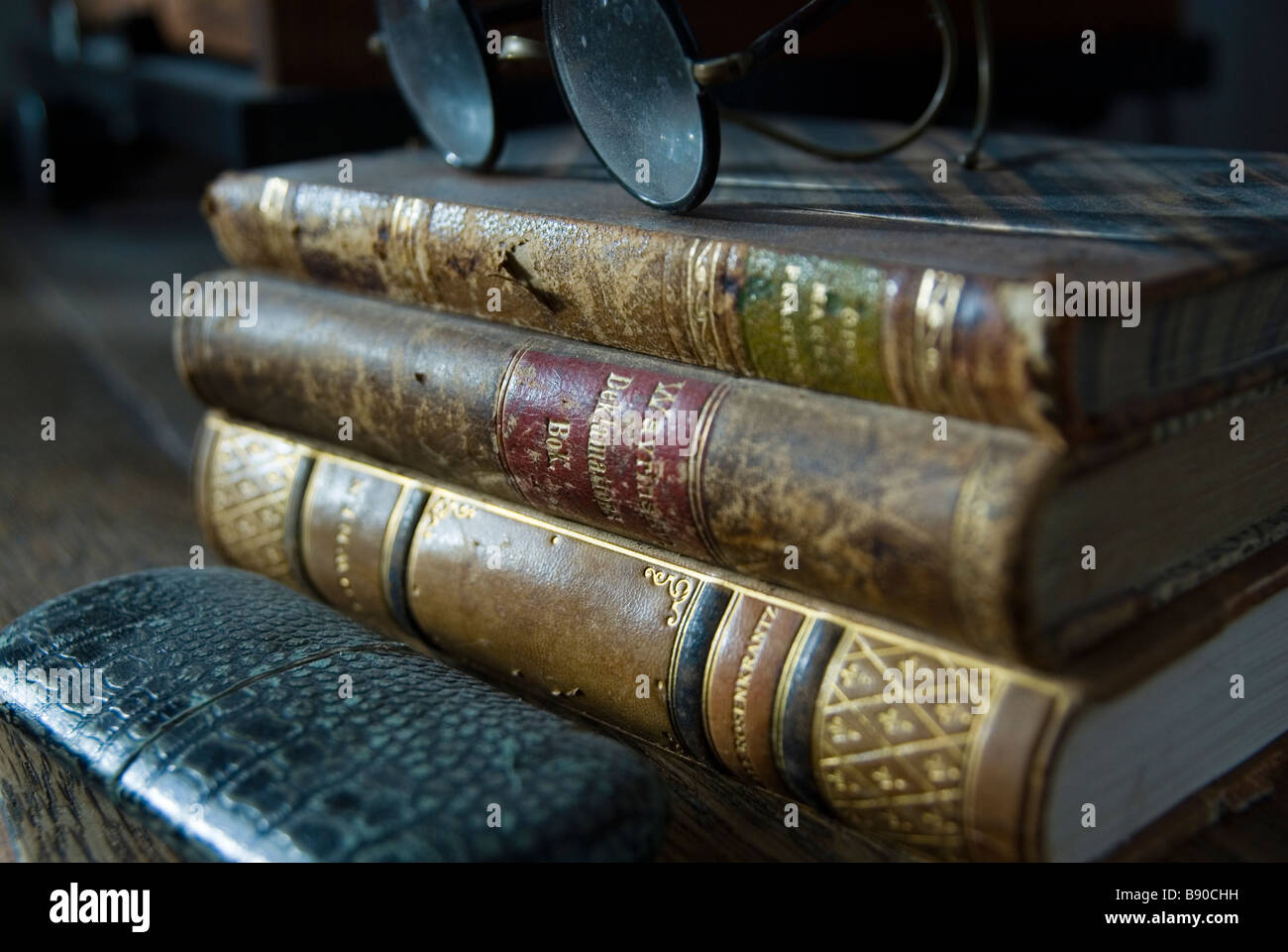 Old books. - Stock Image