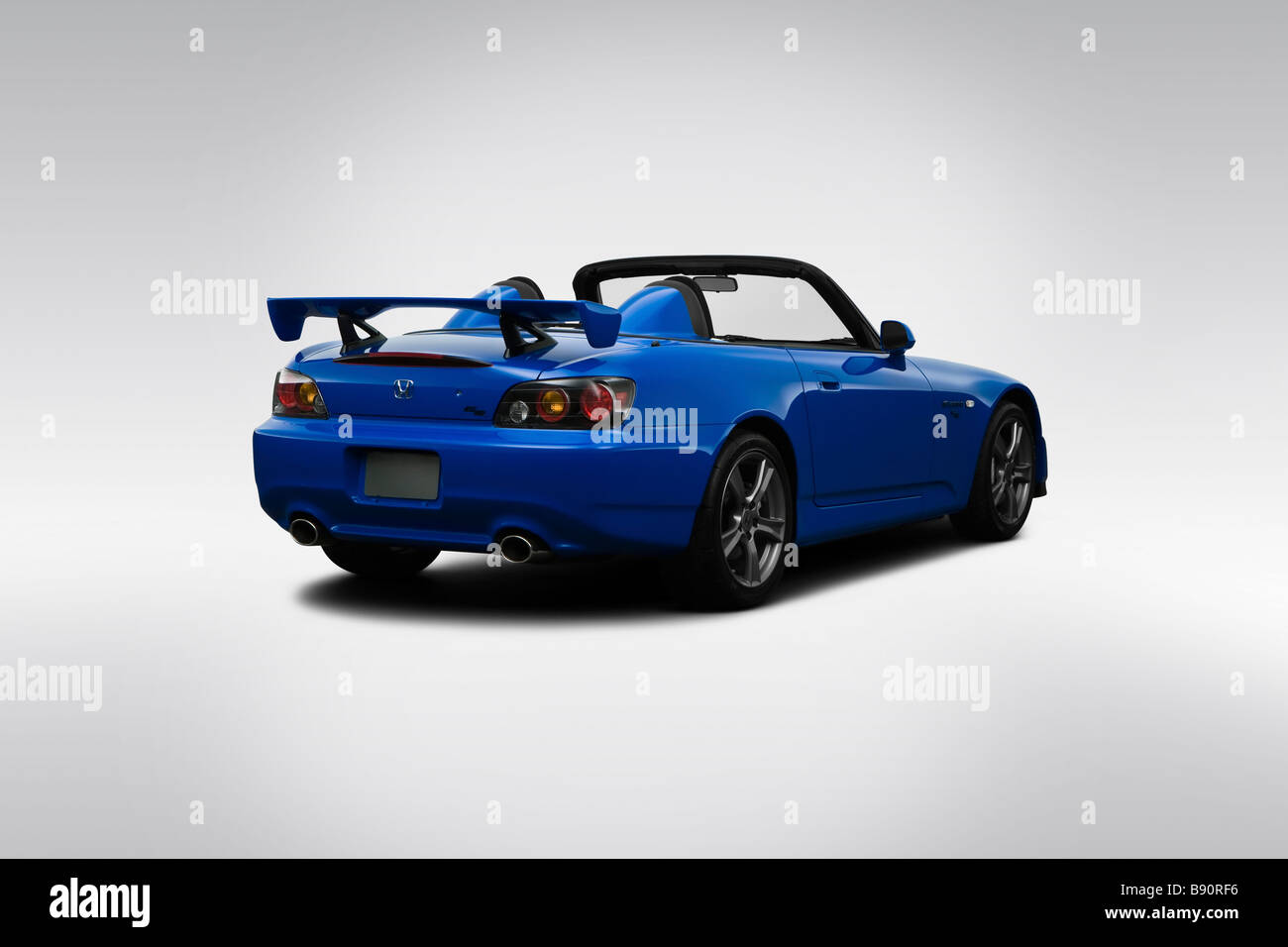 2009 Honda S2000 CR In Blue   Rear Angle View