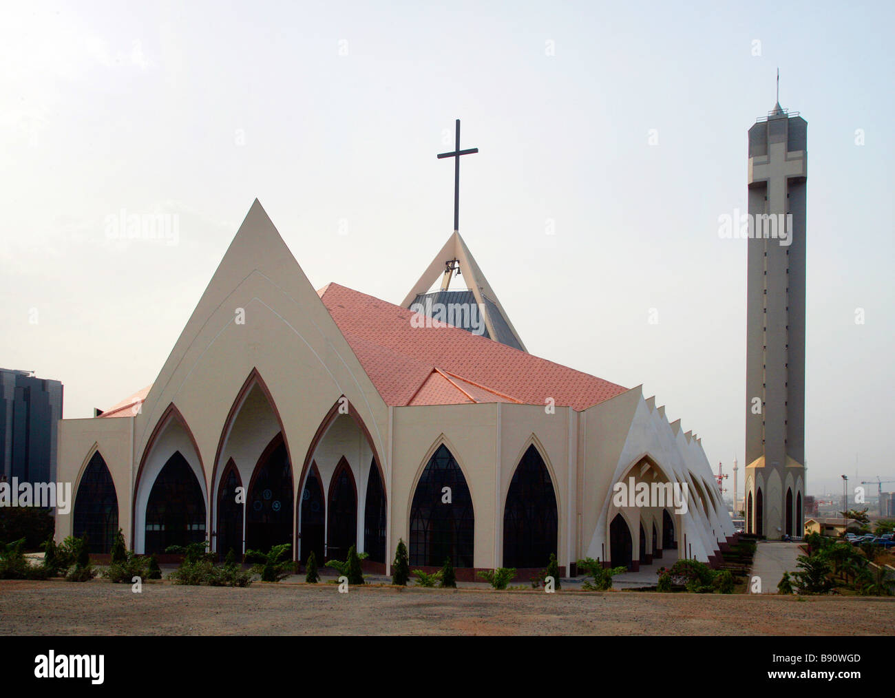 Nigeria, Christian Ecumenical Center in the capital Abuja - Stock Image