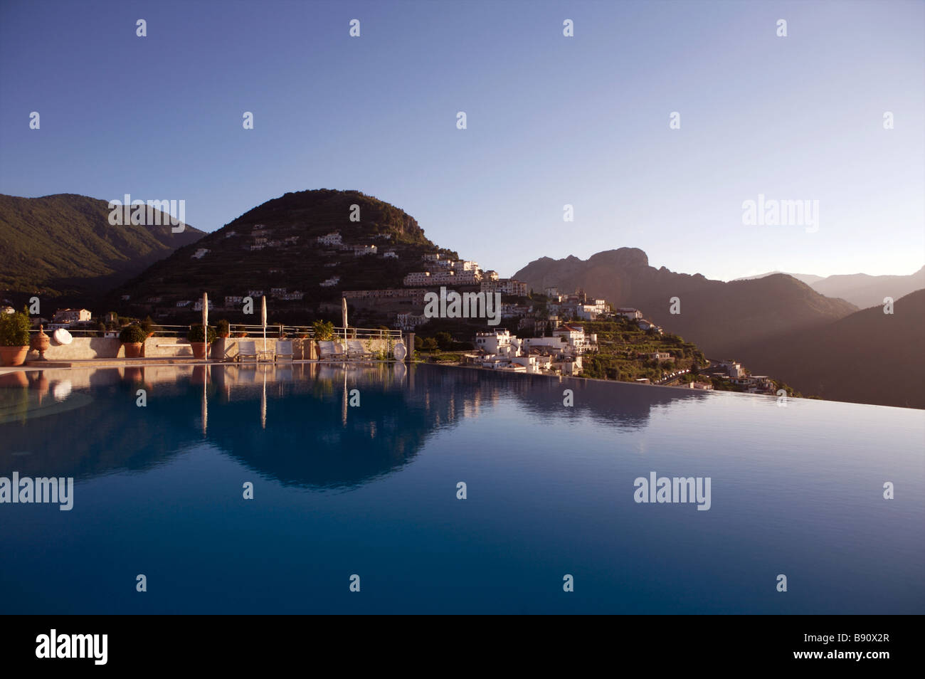 Hotel caruso italy stock photos hotel caruso italy stock for Hotels in ravello with swimming pool