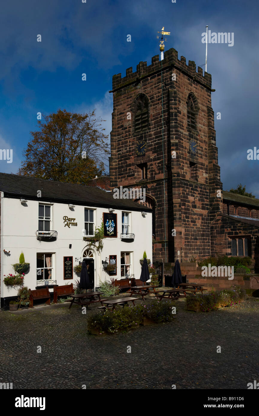 Parr Arms Grappenhall Cheshire UK - Stock Image