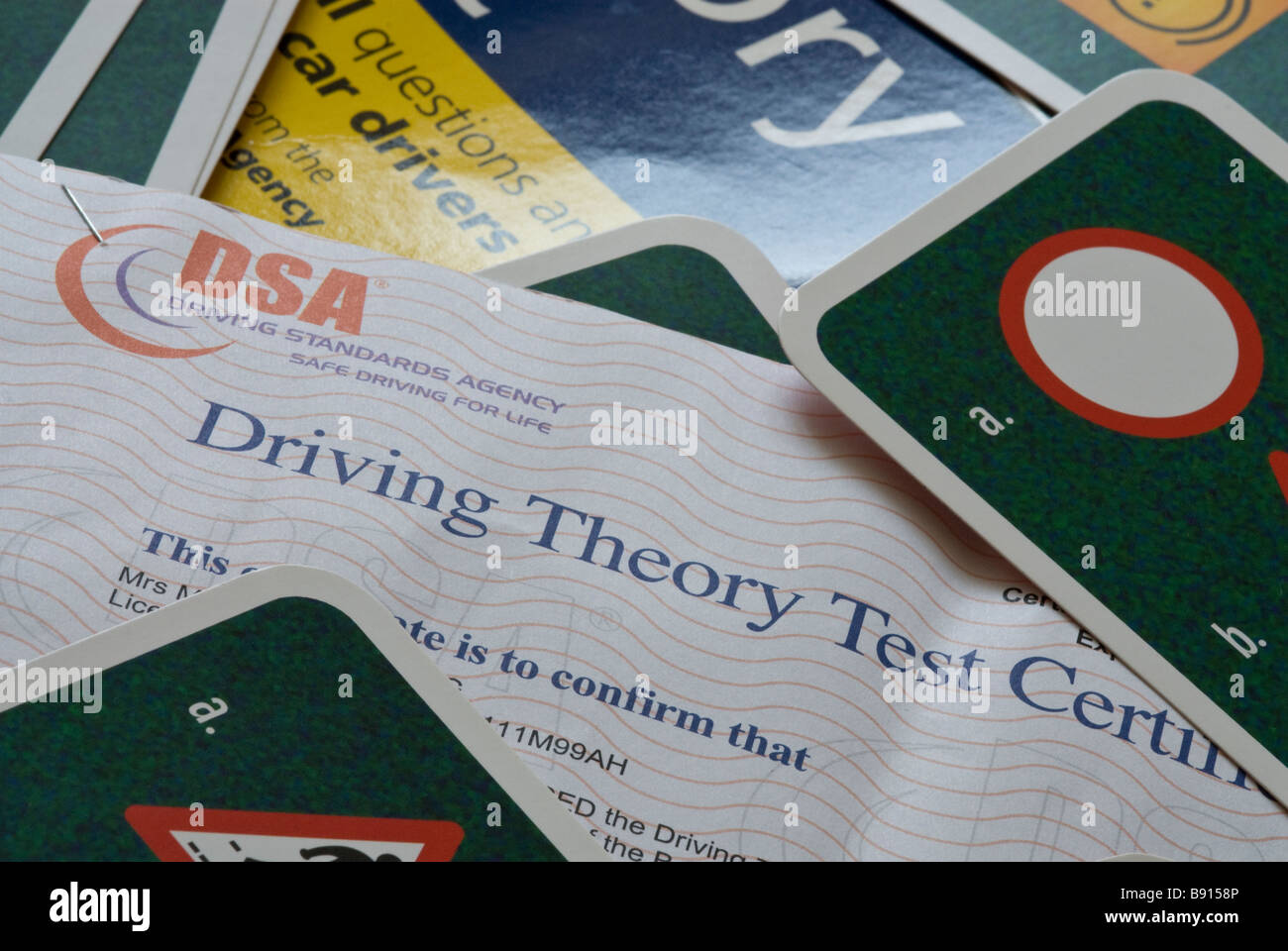 Driving Theory Test - Stock Image