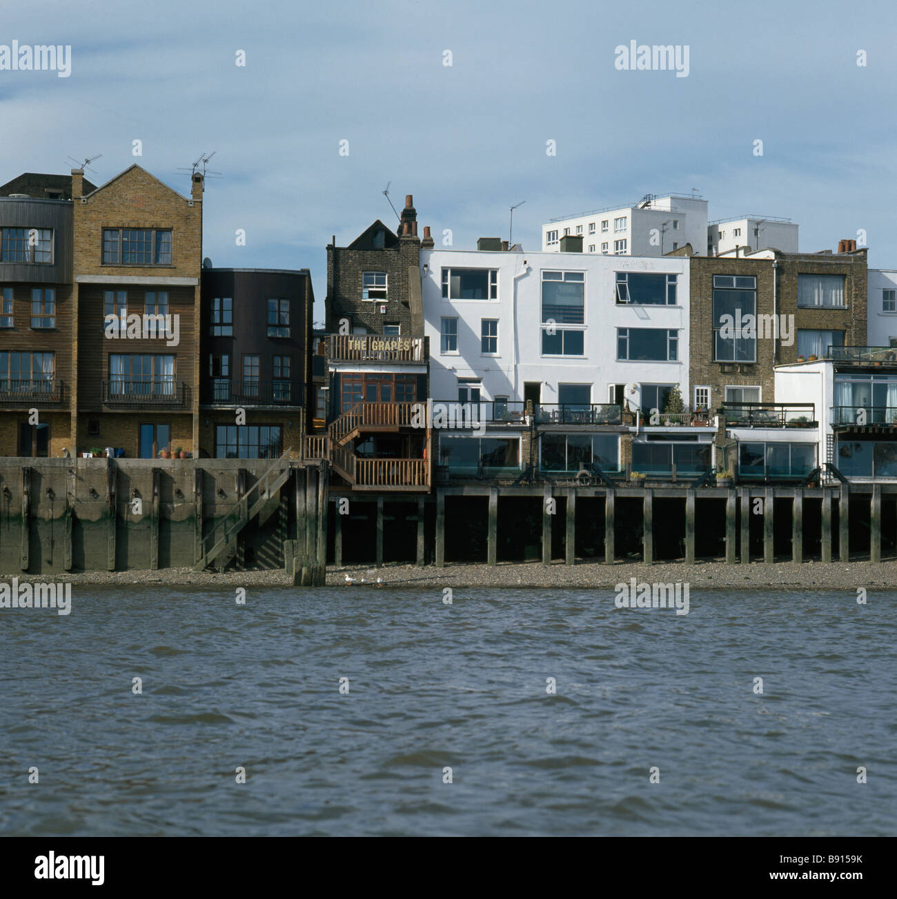 Limehouse: The Grapes - Stock Image