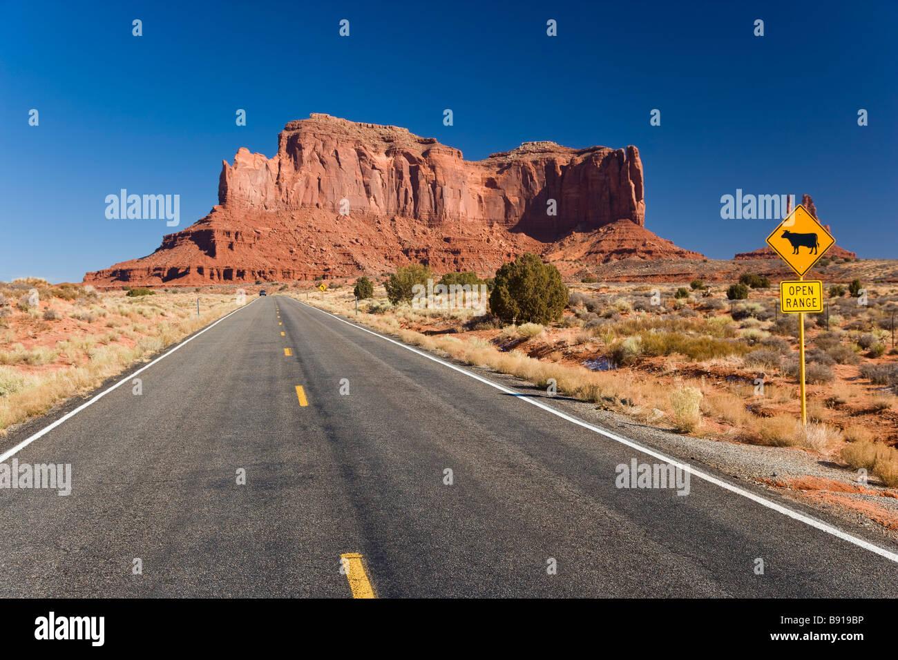 Monument Valley Arizona USA - Stock Image