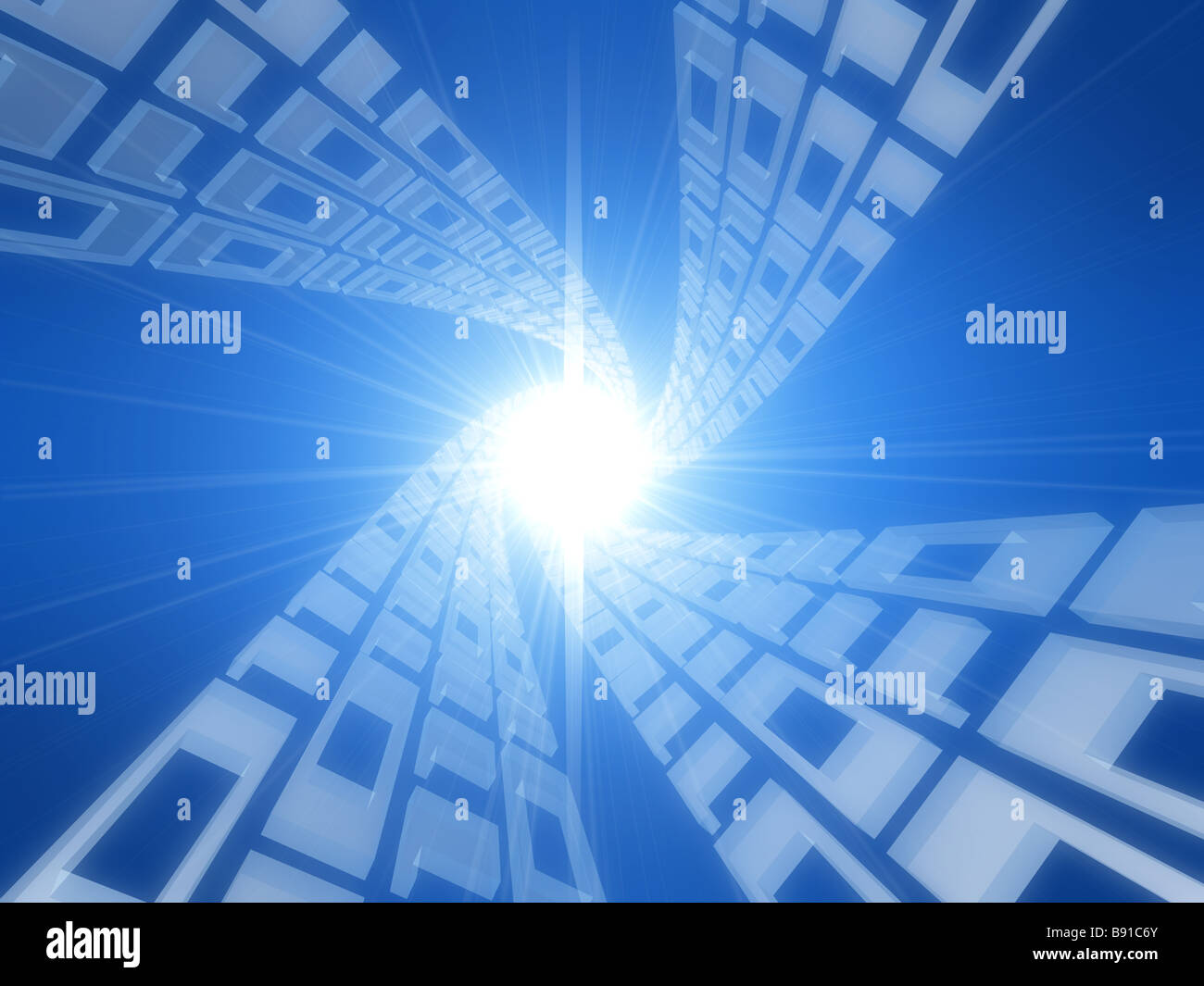 Secret Code Stock Photos Images Alamy Circuit Board And Binary Forming A Mysterious Night Landscape Of Image