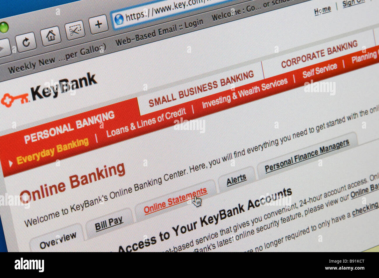 Online Banking Website Online Stock Photos & Online Banking