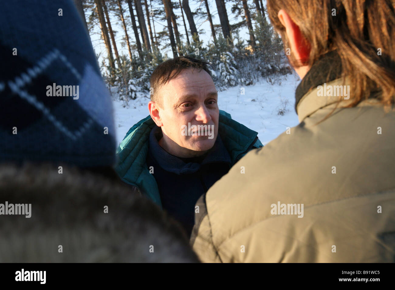 Former FSB Officer Mikhail Trepashkin charged with divulging state secrets was released from a penal colony - Stock Image