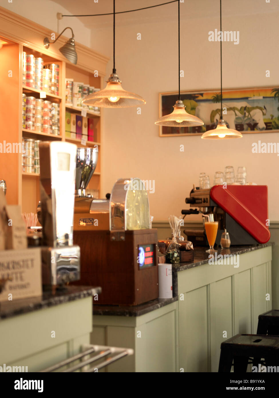 Cafe 1950s Retro Stock Photos & Cafe 1950s Retro Stock ...