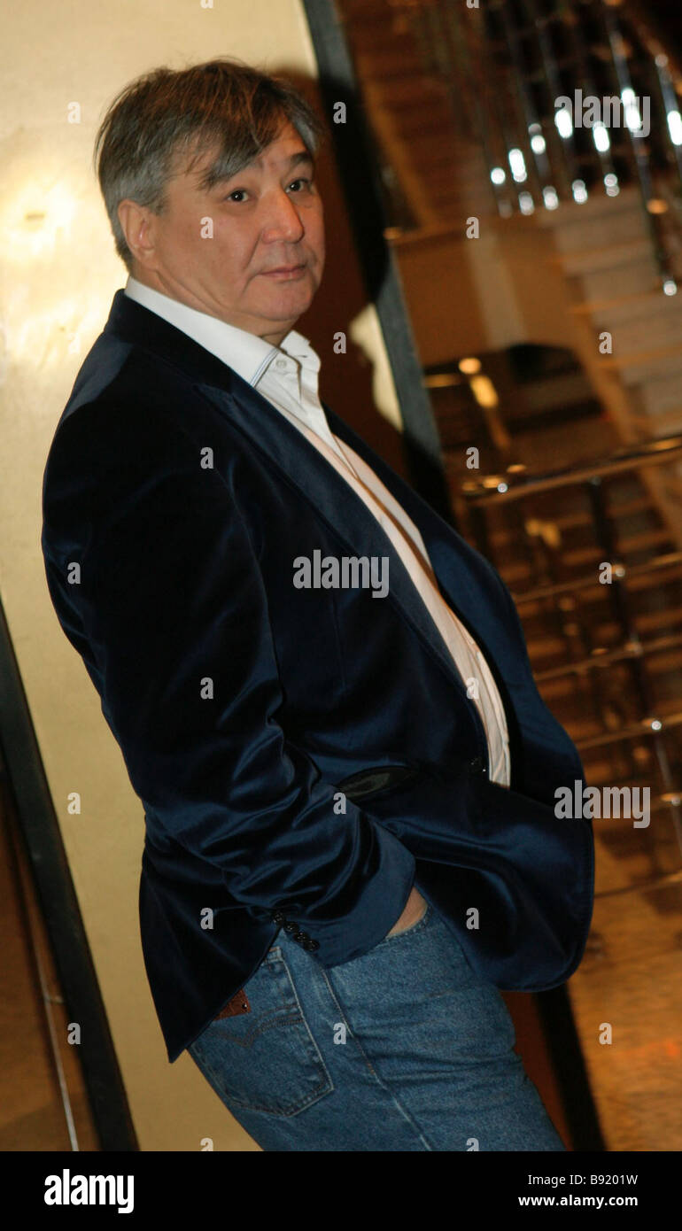 Alimzhan Tokhtakhunov Taiwanchik during premiere of film Zhara Heat - Stock Image