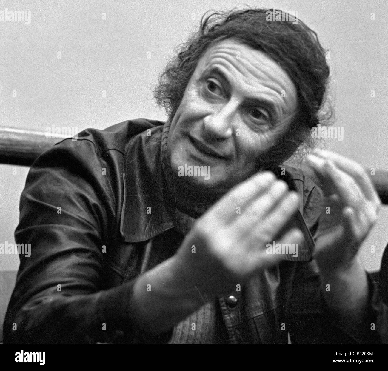 French actor Marcel Marceau - Stock Image