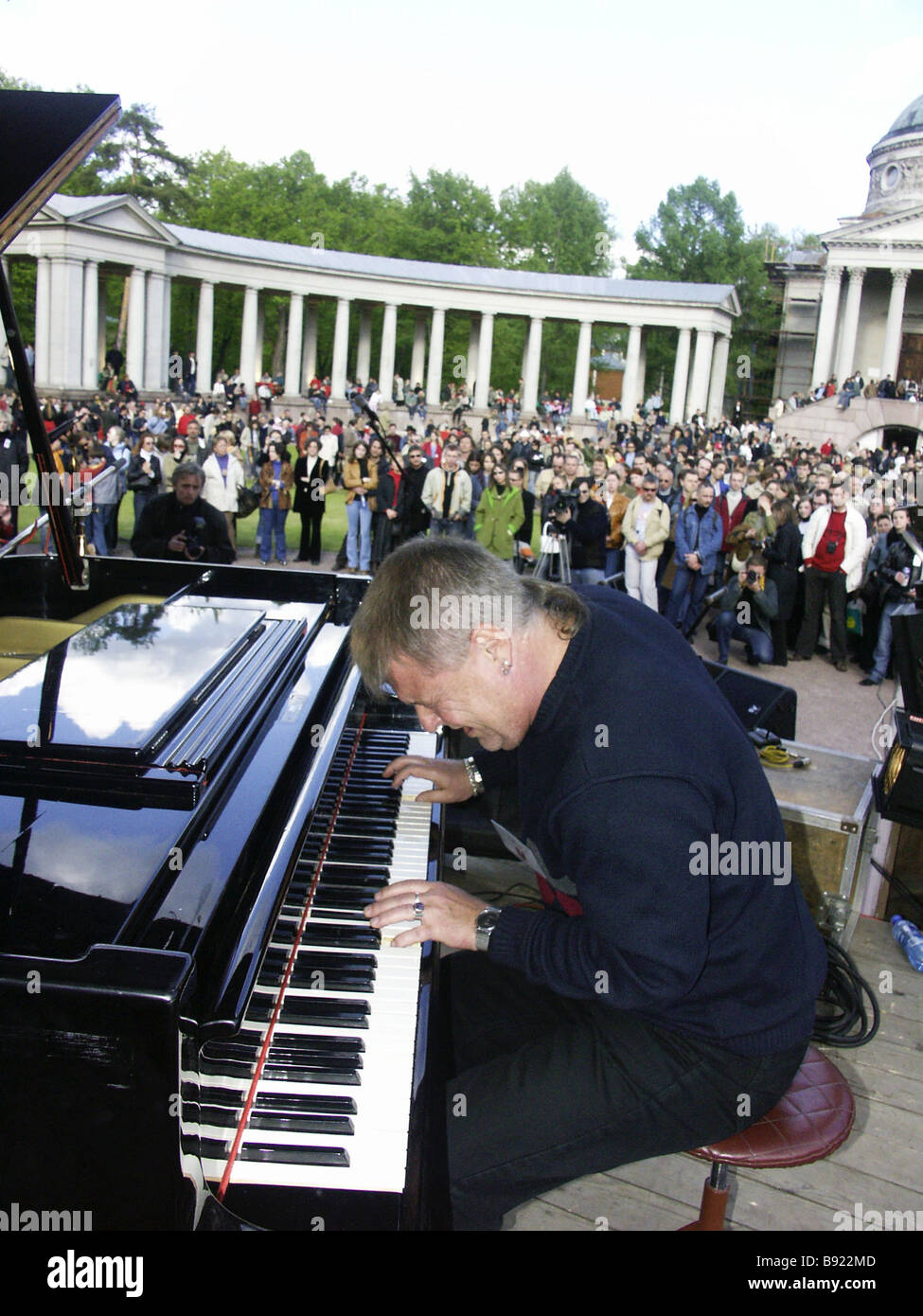 Pianist Yuri Kuznetsov performing at 1st Festival of Modern