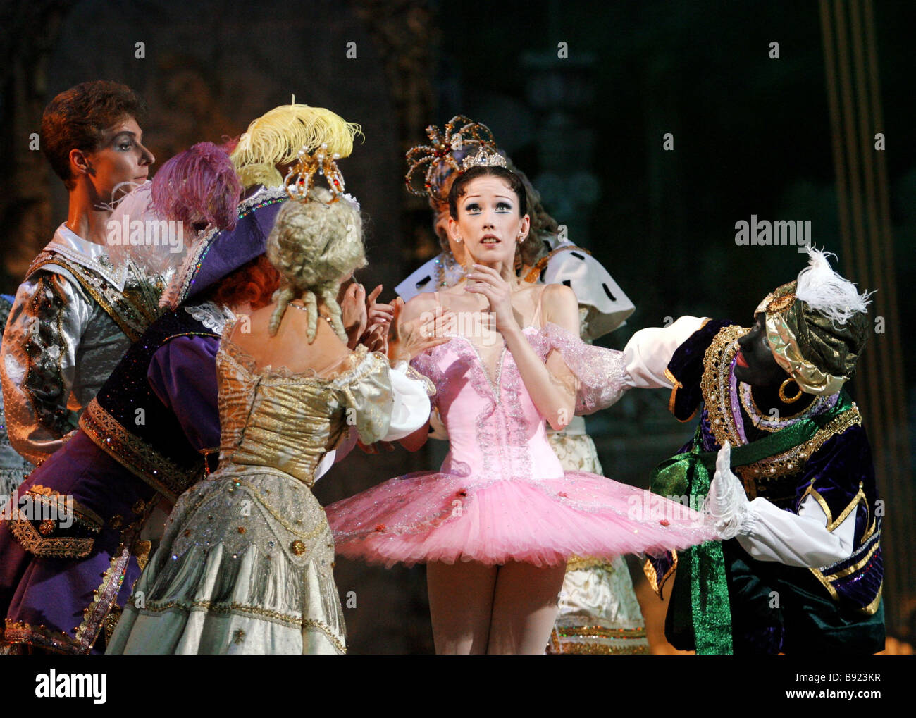 Premiere of new version of ballet The Sleeping Beauty by Peter Tchaikovsky Produced by State Academic Classic Ballet Stock Photo