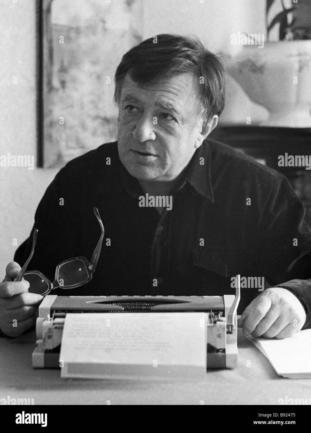 Boris Sheinin film dramatist member of the Anti Zionist Committee - Stock Image
