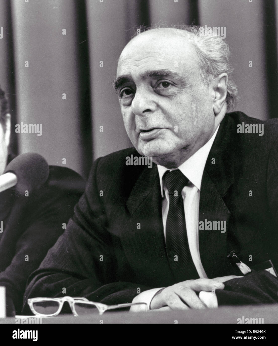 Soviet political scientist Georgy Shakhnanazarov - Stock Image