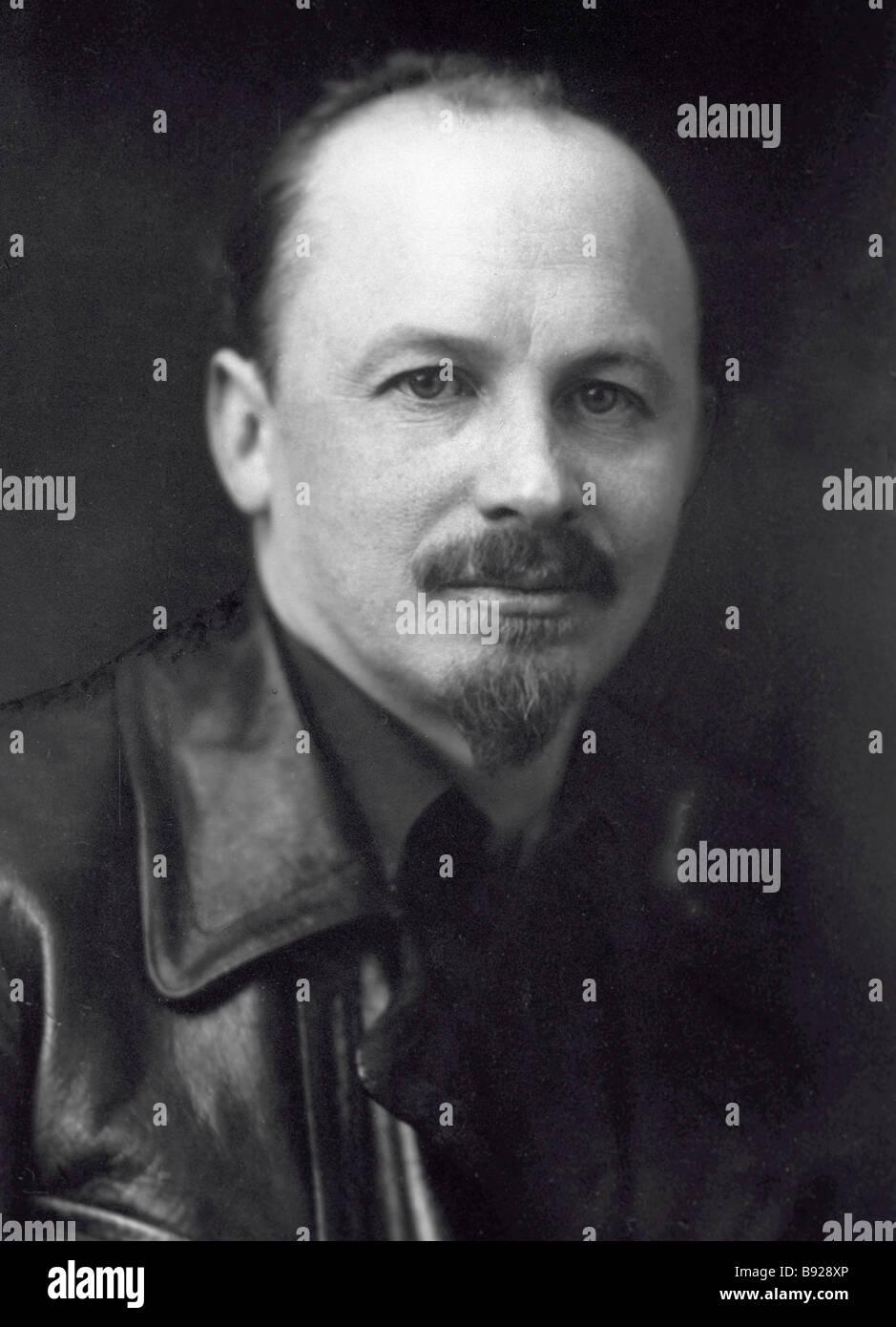 Soviet political leader Nikolai Bukharin - Stock Image