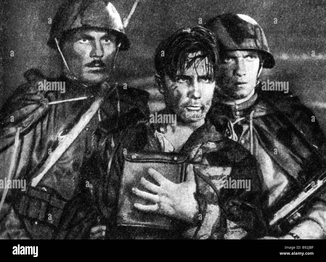 A still from the film The Star after Emmanuel Kazakevich s novel of the same name 1949 Alexander Ivanov director - Stock Image