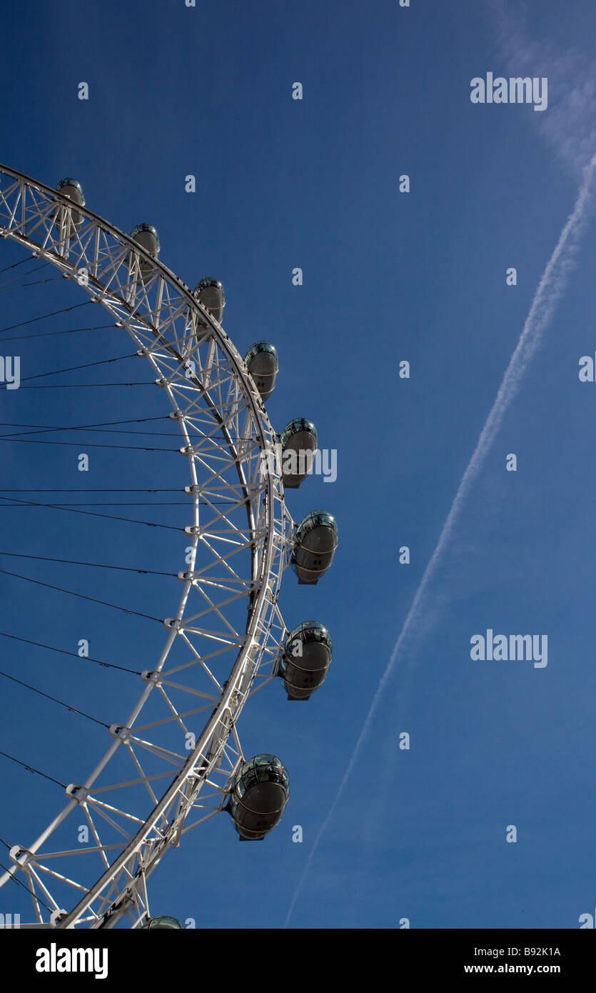 The London Eye Millennium Wheel At A Height Of 135 Metres