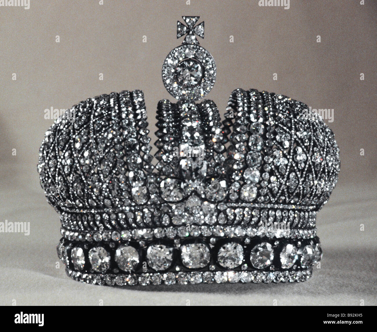 Small Imperial Crown from the Russian Diamond Fund s Treasury Stock