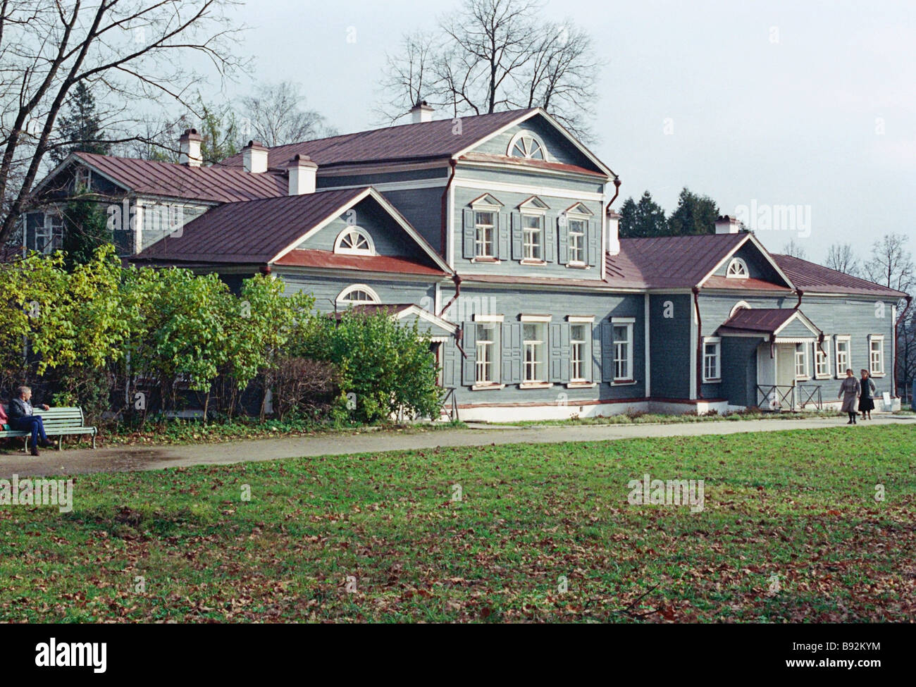 Abramtsevo state historical cultural and literary museum preserve Industrialist merchant and generous patron of - Stock Image