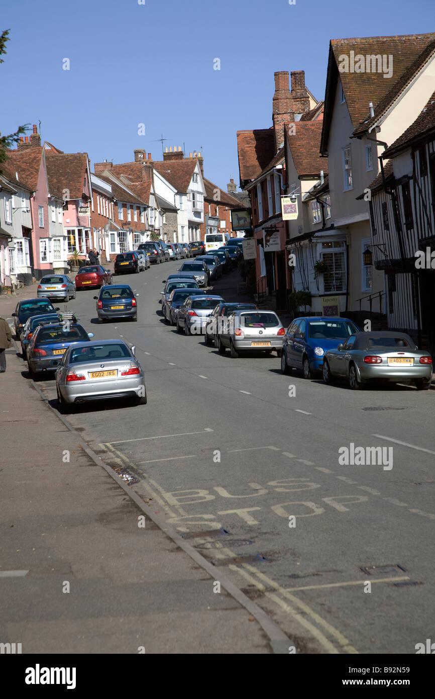 Lavenham Suffolk England - Stock Image