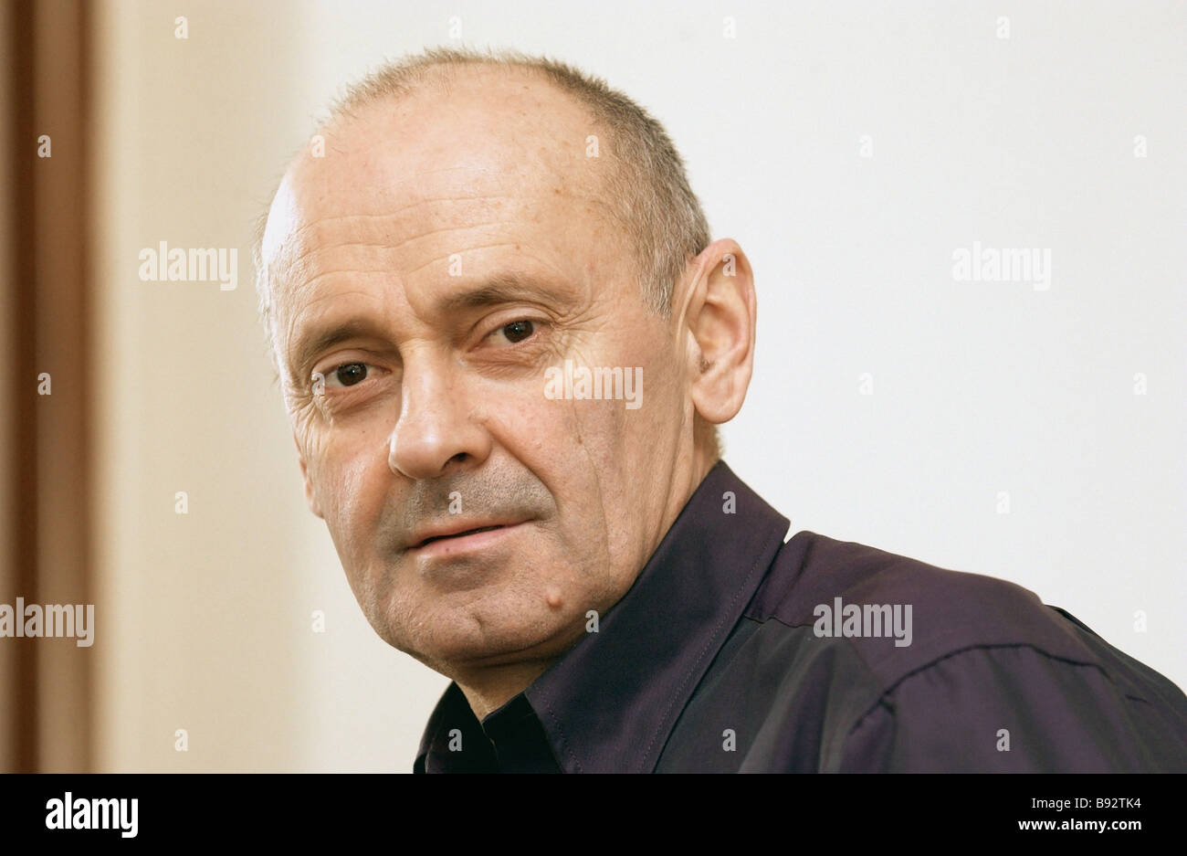 Russian Olympic Committee spokesman Gennady Shvets - Stock Image