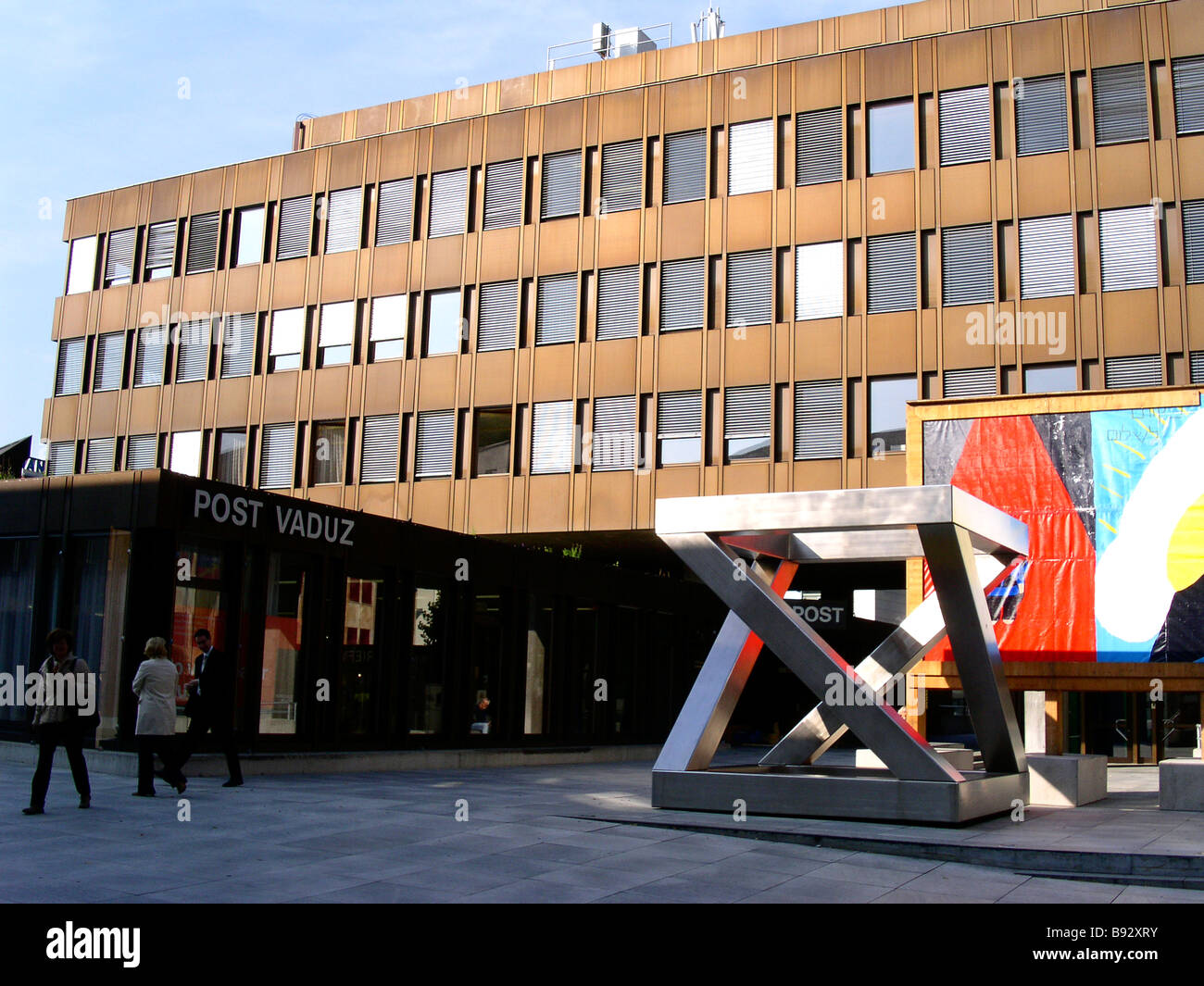 Li The Principality of Liechtenstein Capital Vaduz The Postoffice No third party rights available - Stock Image