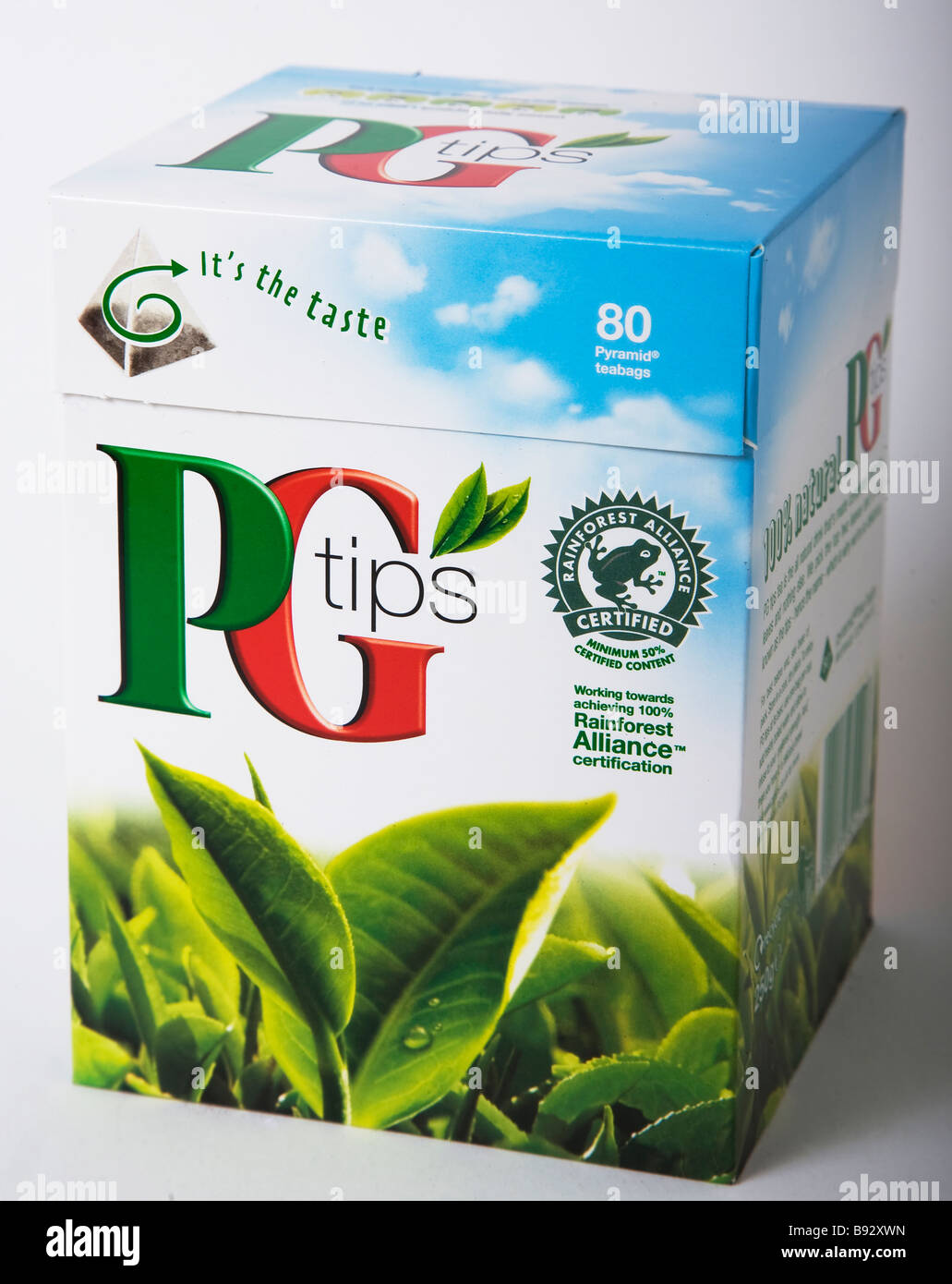 PG tips tea bags - Stock Image