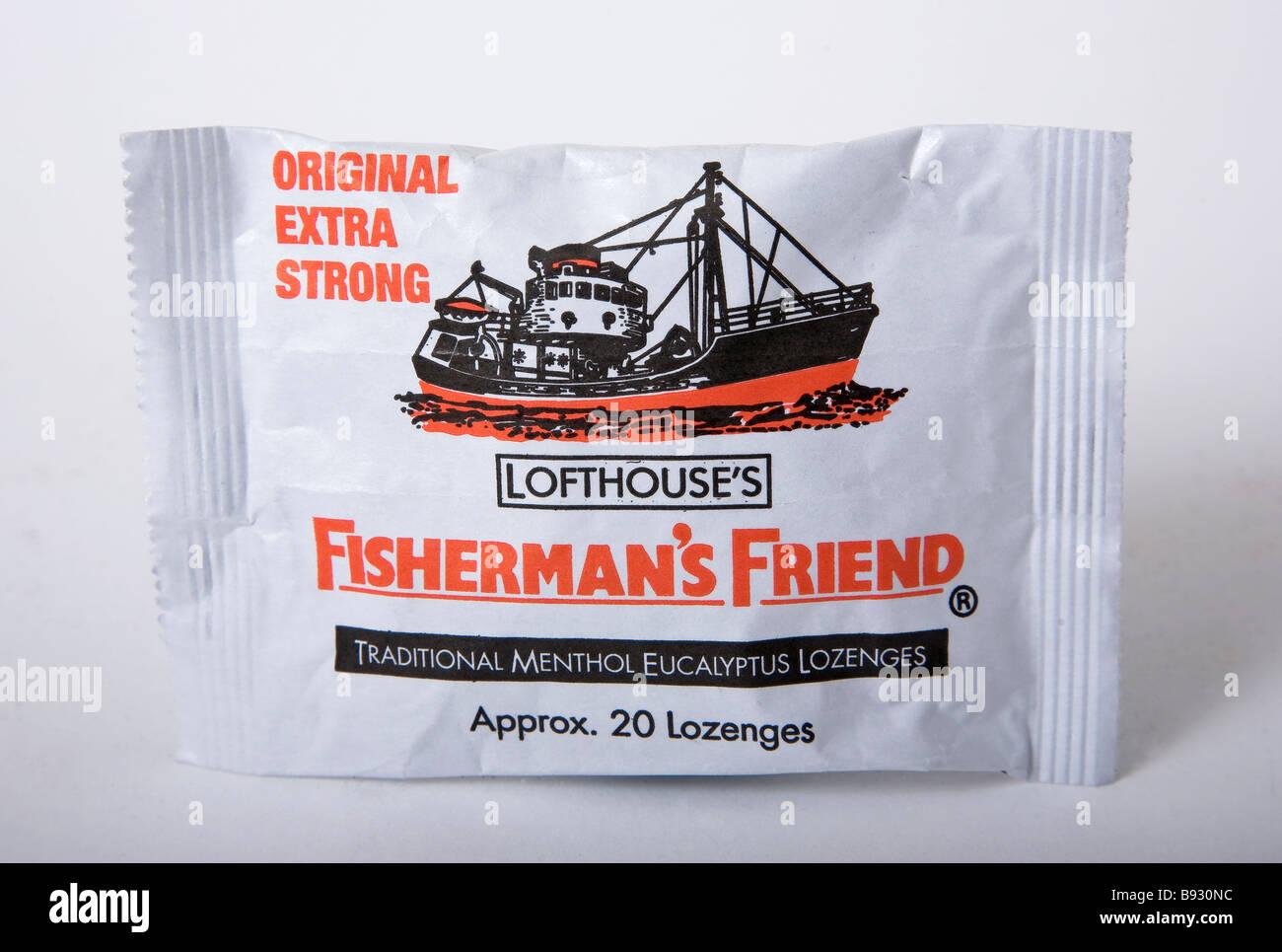fisherman fisherman's friend original - Stock Image