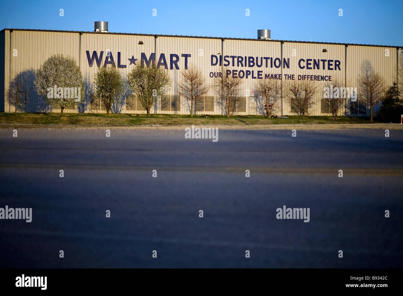 Walmart Distribution Center No. 6094 in Bentonville, Arkansas, U.S.A. - Stock Image