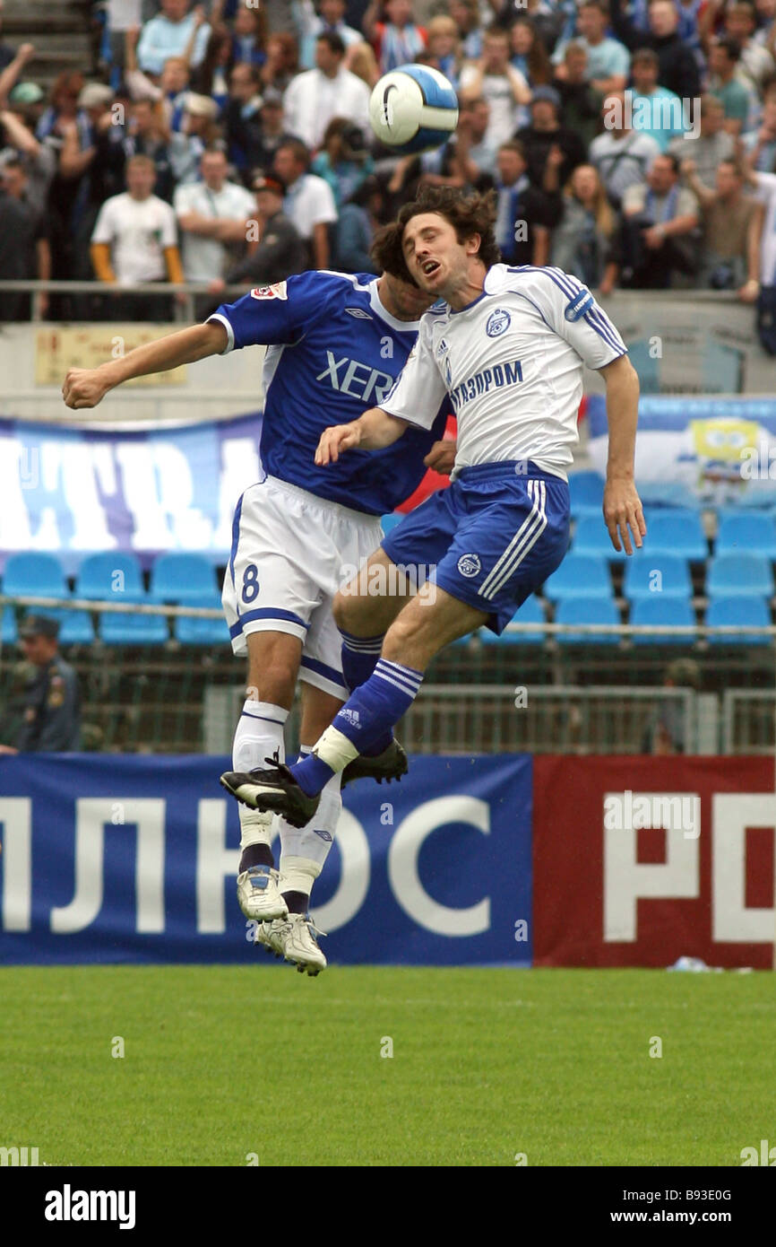 Dmitry Khokhlov - a football player with a capital letter 38