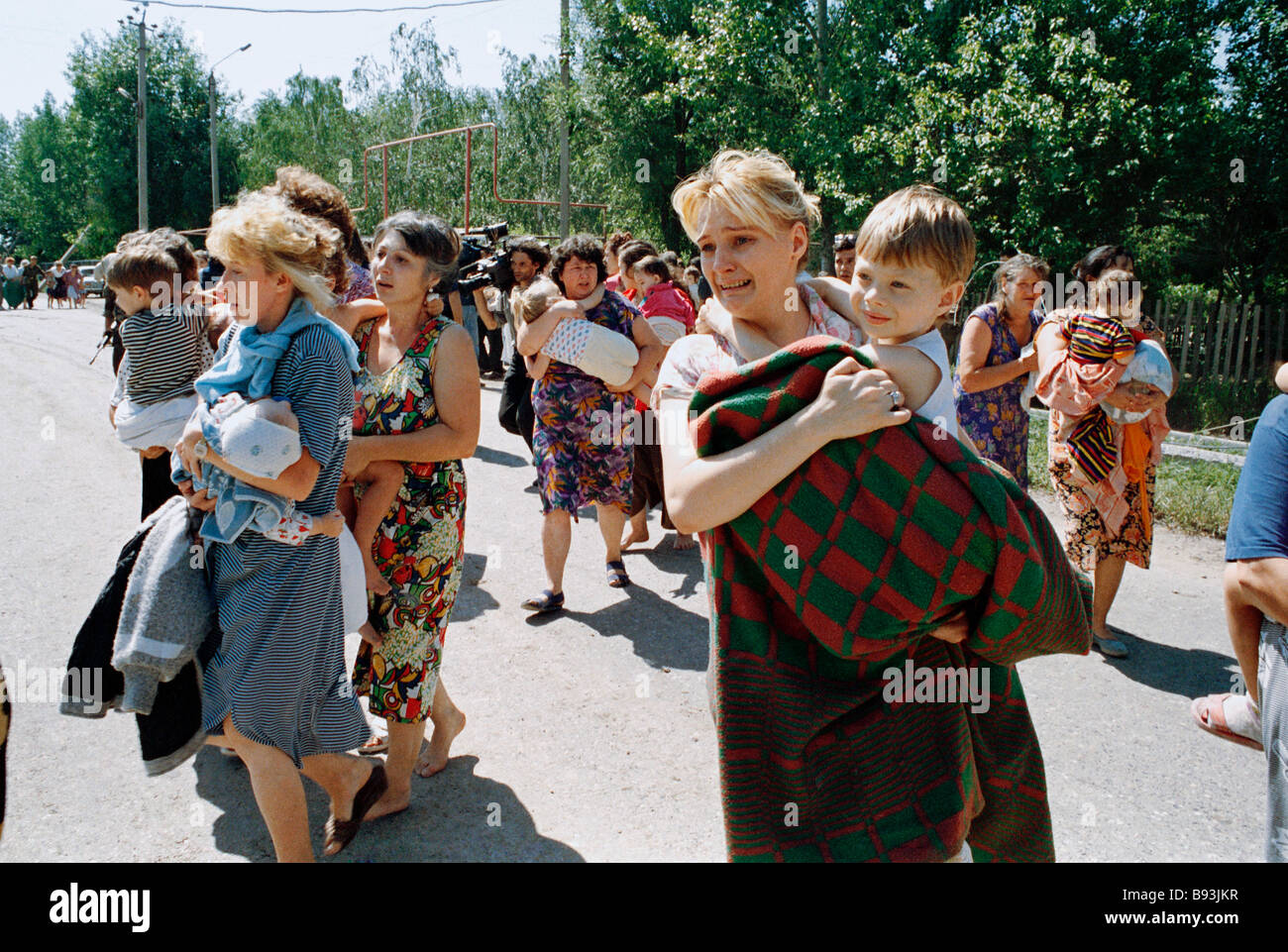 Capture of hostages in Budyonnovsk. 20 years ago
