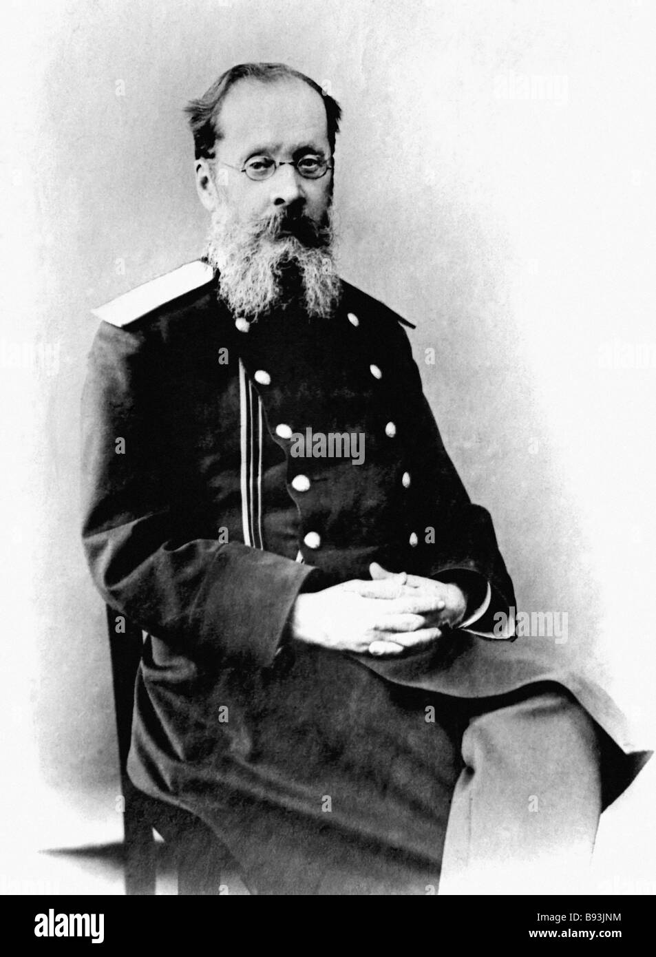 Cesar Cui 1835 1918 General of the Engineers an expert in fortification composer music critic and member of the - Stock Image