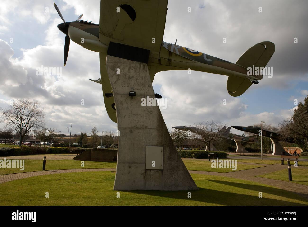 us military base mildenhall uk - Stock Image