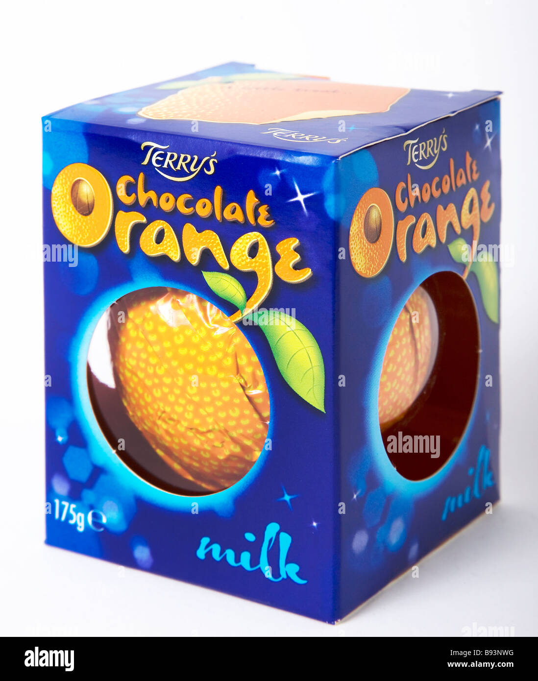 classic terry's chocolate orange - Stock Image