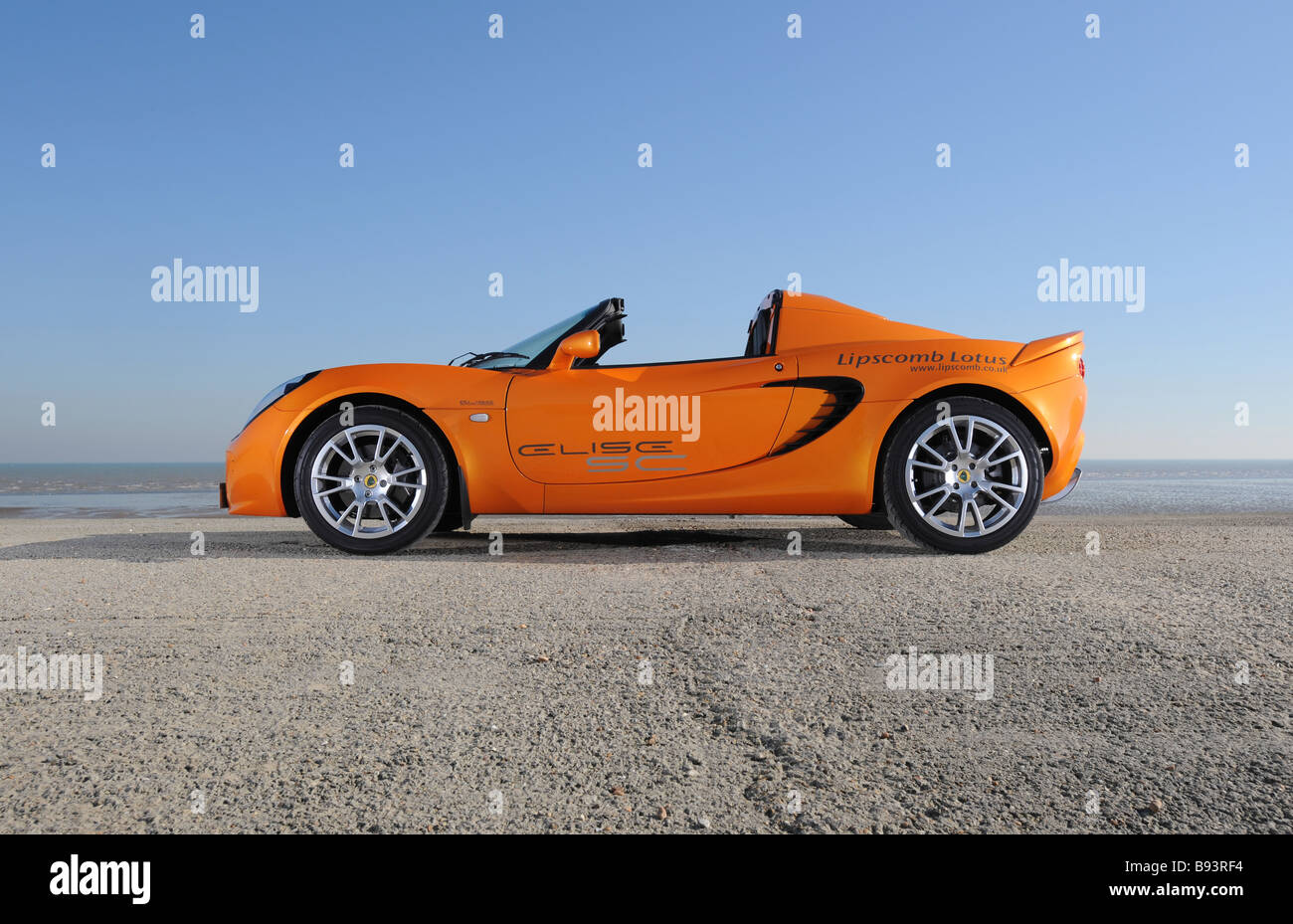 lotus elise sc supercharged mid engine sports car stock photo 22826584 alamy. Black Bedroom Furniture Sets. Home Design Ideas