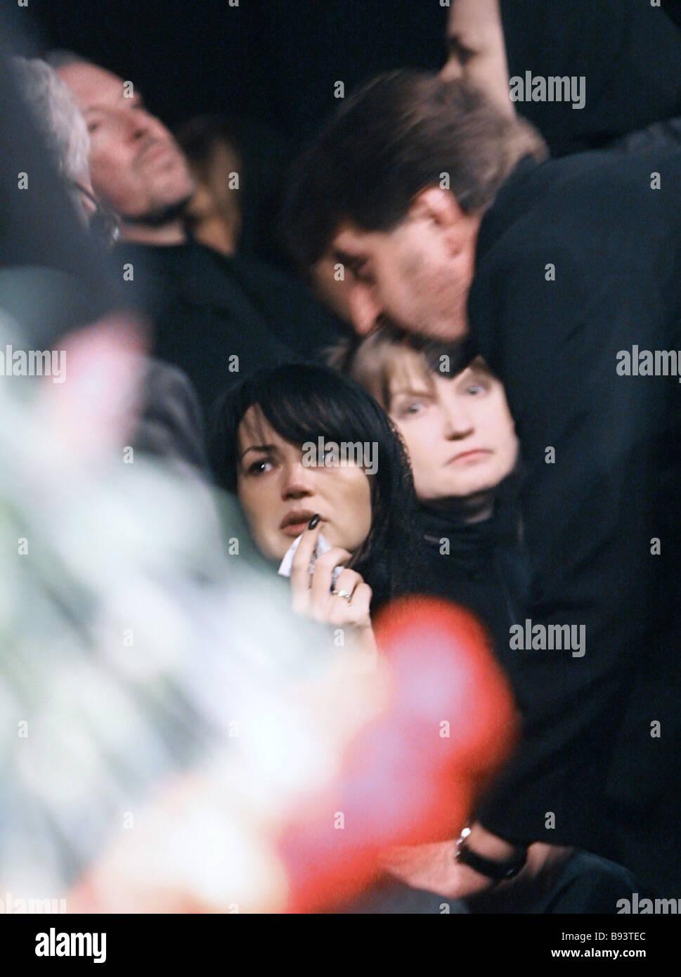 The widow of Andrei Krasko is getting married 08/10/2010 6