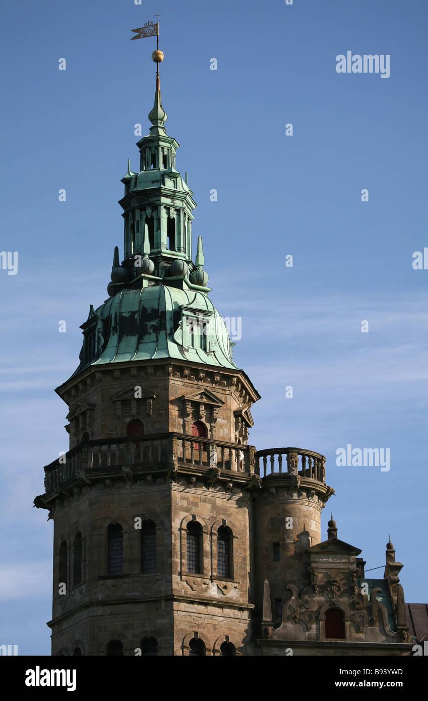 Kronborg Castle, Elsinore. Denmark. Europe. Stock Photo