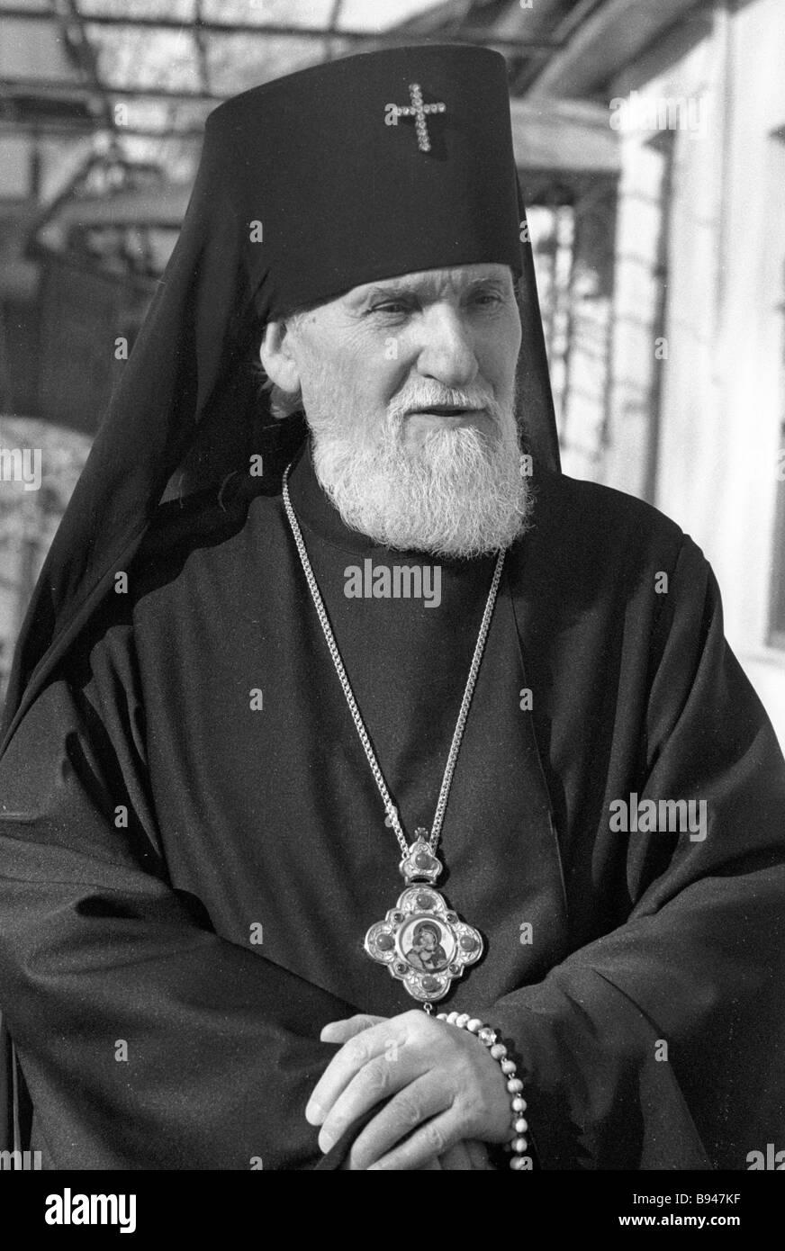 Jonathan the Archbishop on Chisinau and All Moldova - Stock Image