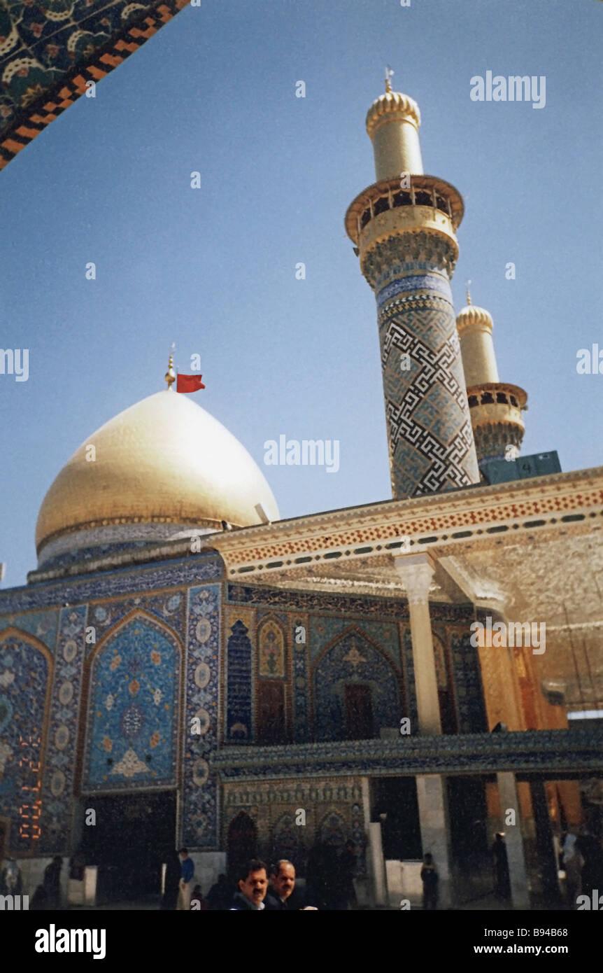 Maula Ali Shrine Wallpaper: Najaf Iraq Stock Photos & Najaf Iraq Stock Images