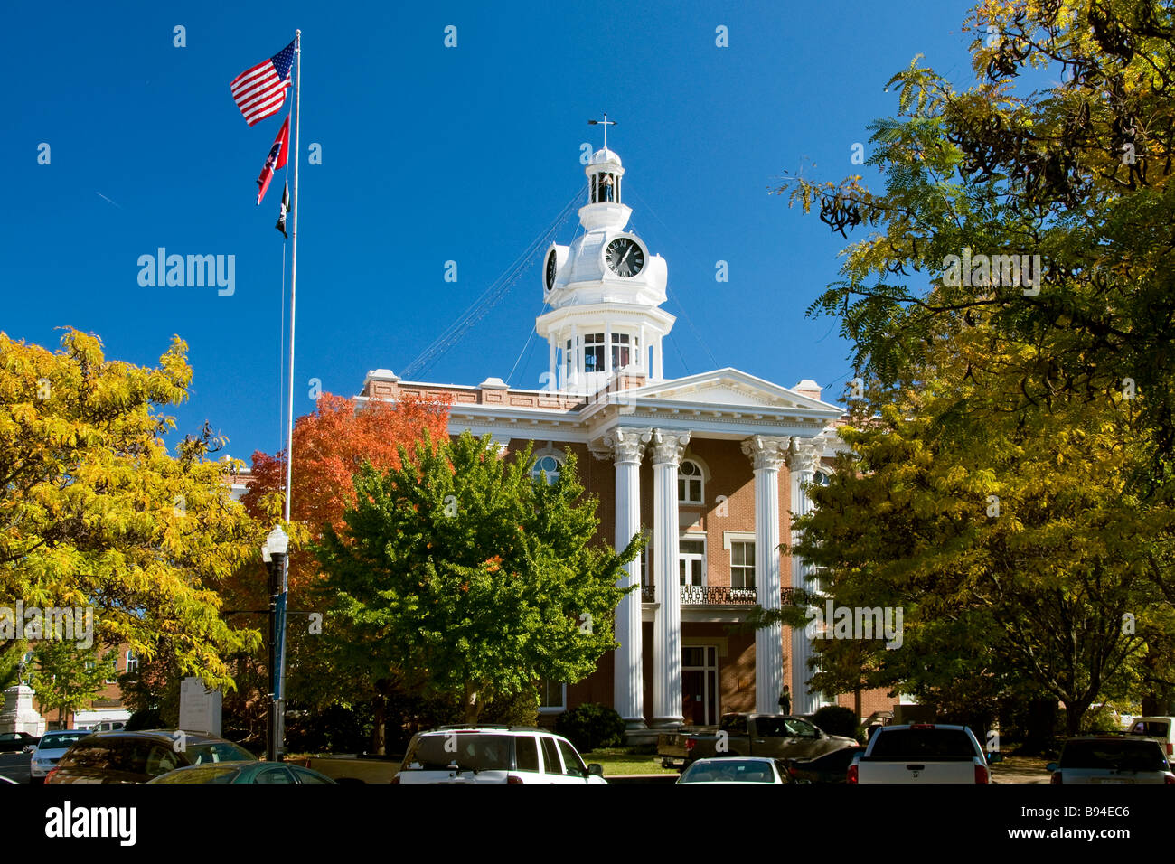 Rutherford County Courthouse In Murfreesboro Tennessee Is