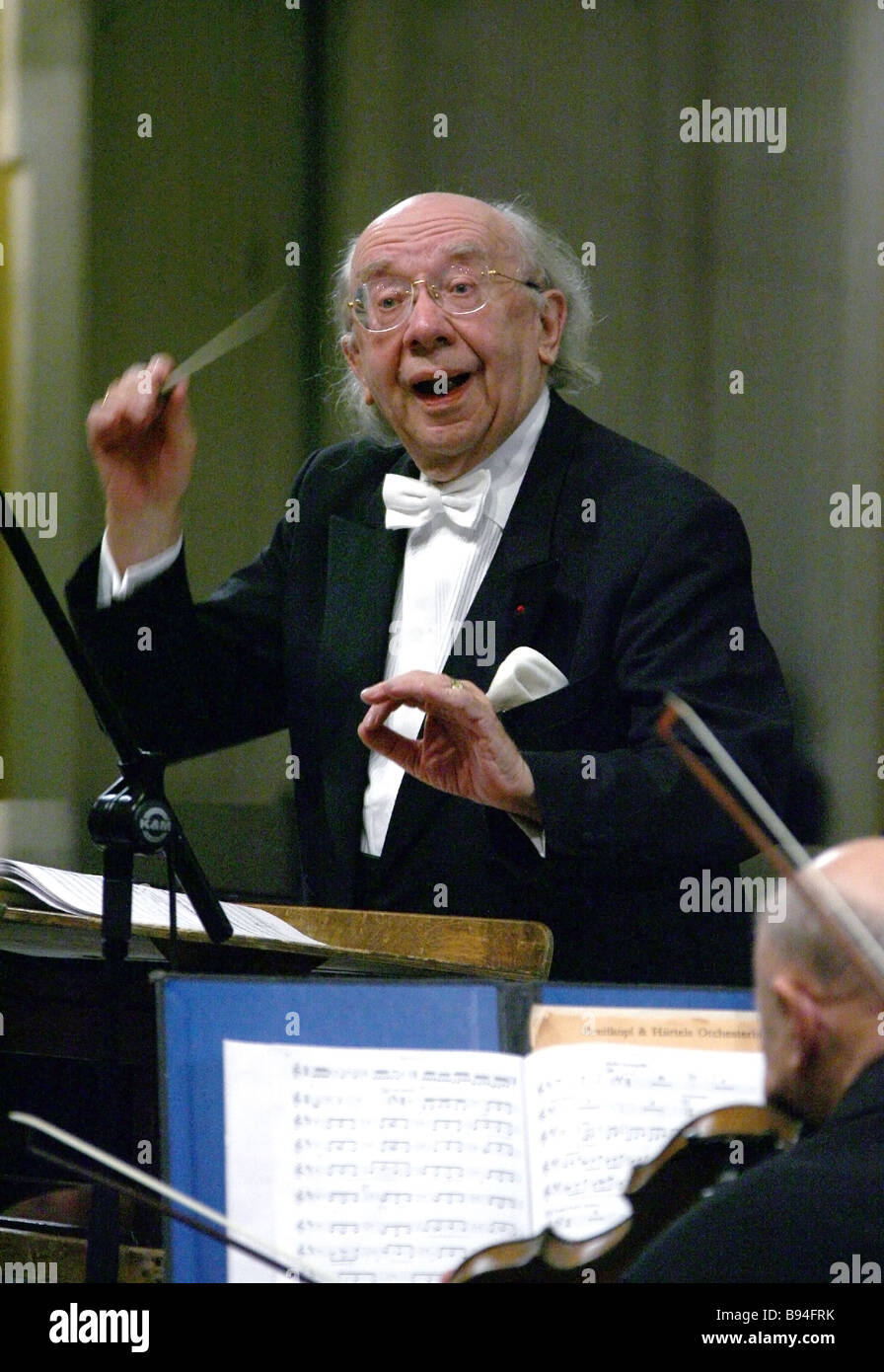 Gennady Rozhdestvensky, conductor and composer: biography, personal life, creativity 54