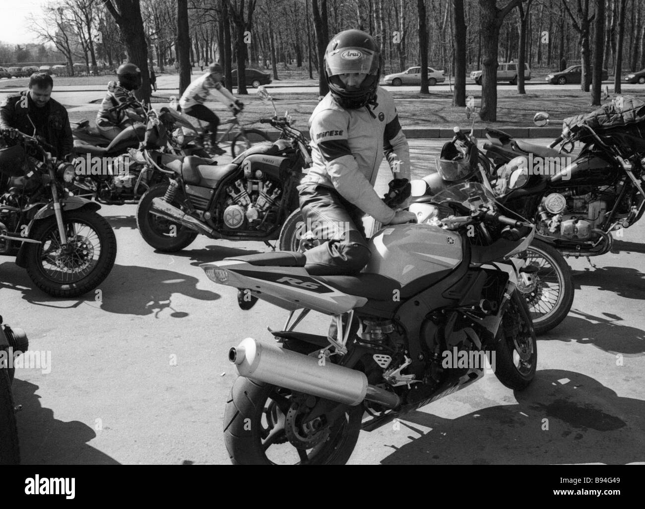 Bikers - Stock Image
