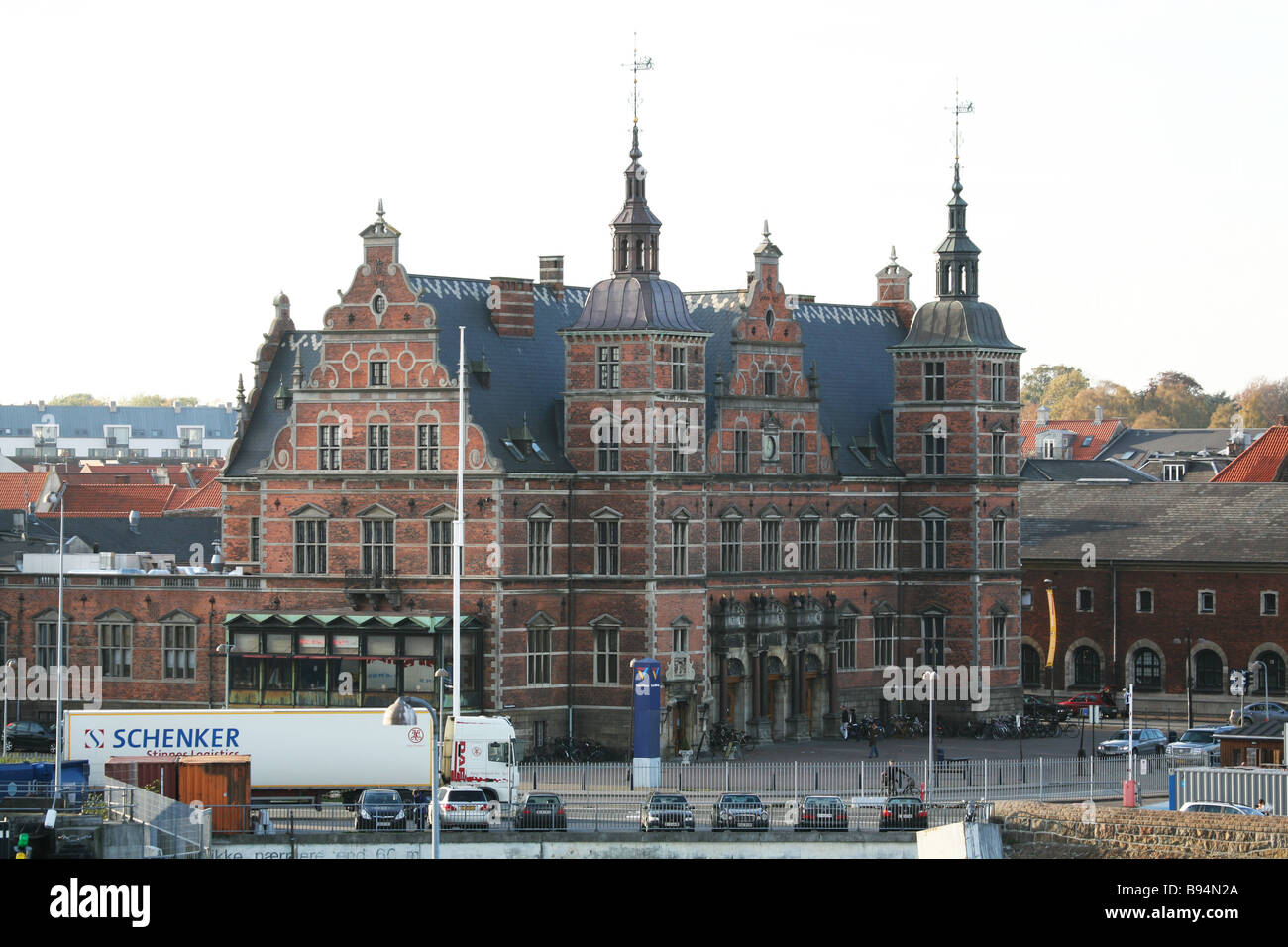Elsinore. Denmark. Europe. - Stock Image