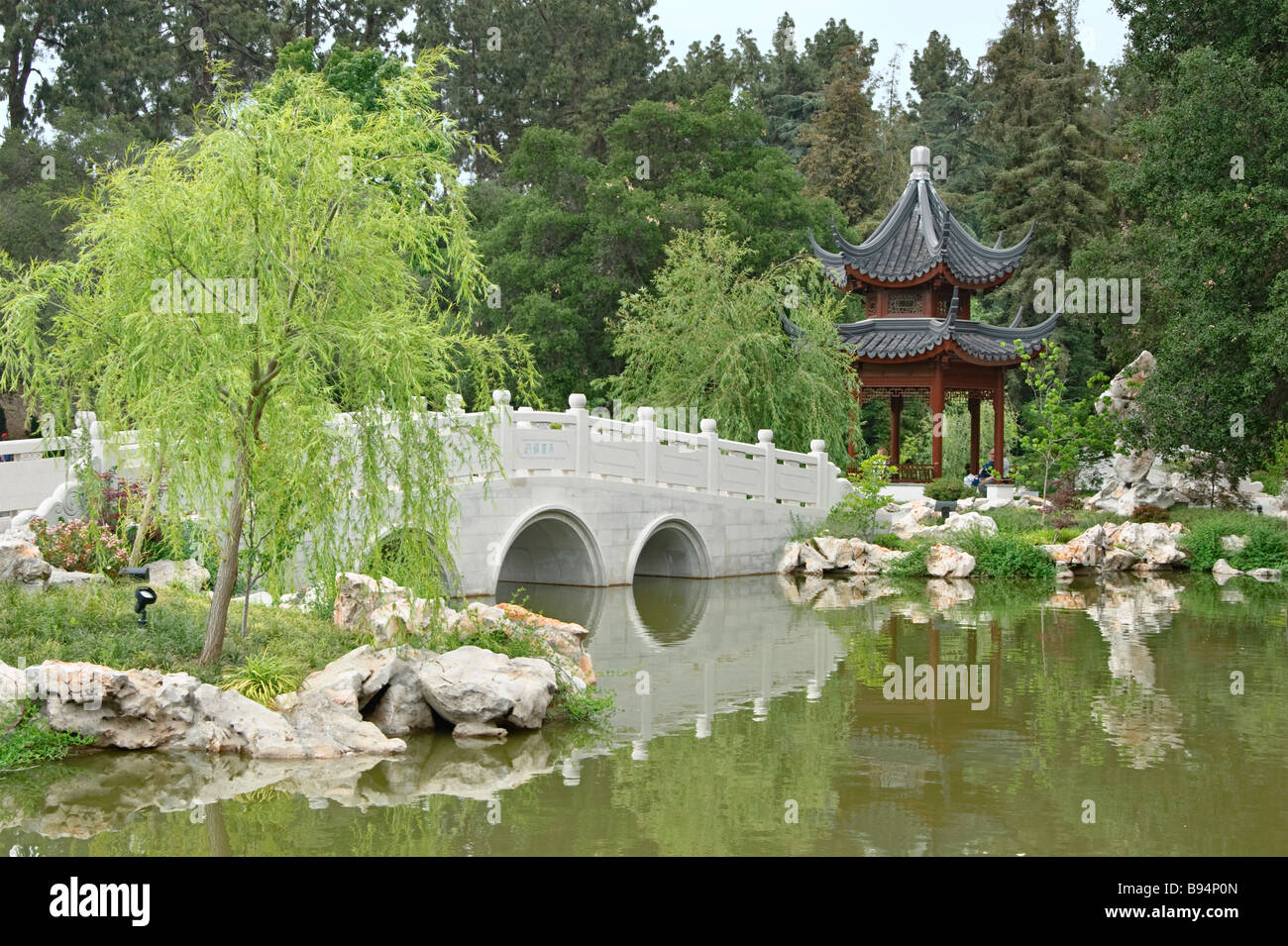 Chinese Garden Bridges Stock Photos Chinese Garden Bridges Stock