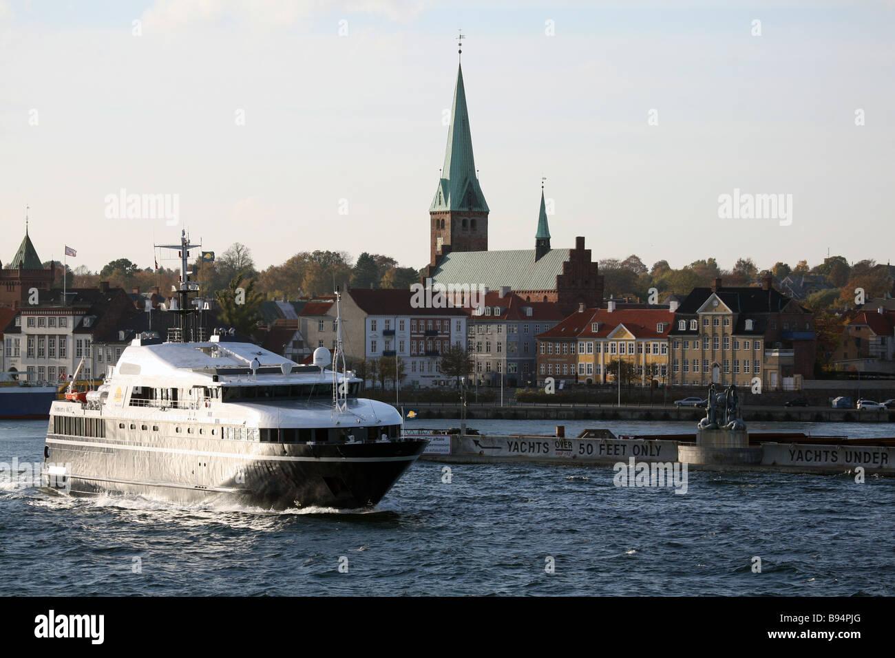 Elsinore. Denmark. Europe. - Stock Image
